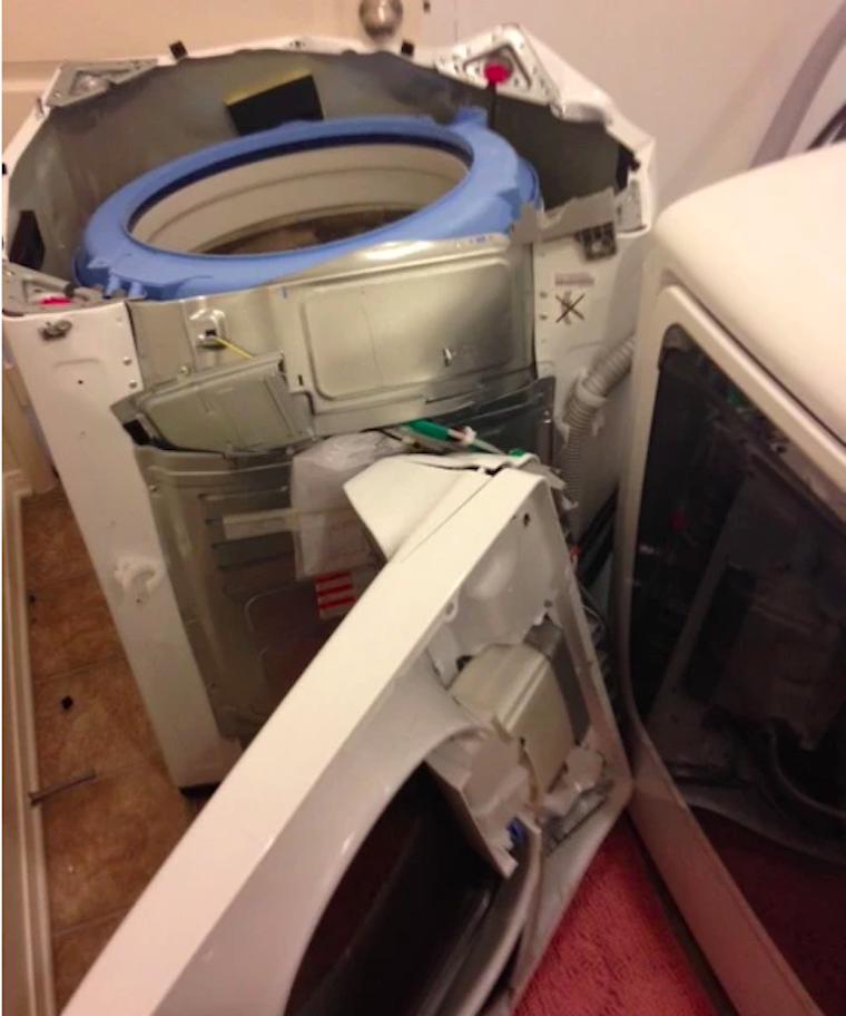 Itt a Samsung vége? Visszahívnak 2,8 millió felültöltős mosógépet