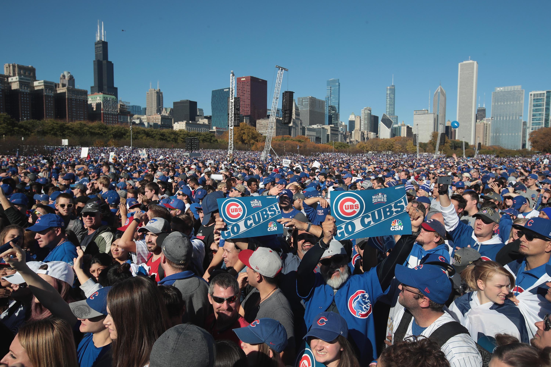 A Chicago Cubs ünneplése minden idők egyik legnagyobb békés összejövetele volt a világon