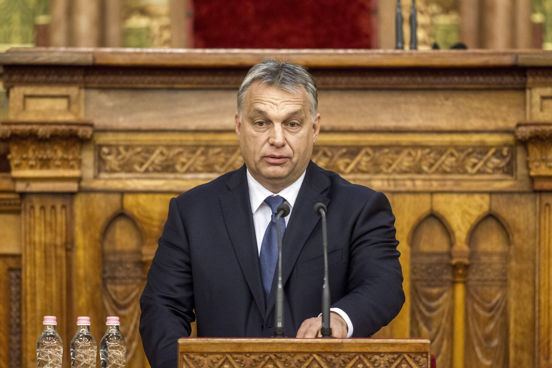 A fia hívta fel Orbánt a hírrel, hogy Trump megfordította az elnökválasztást