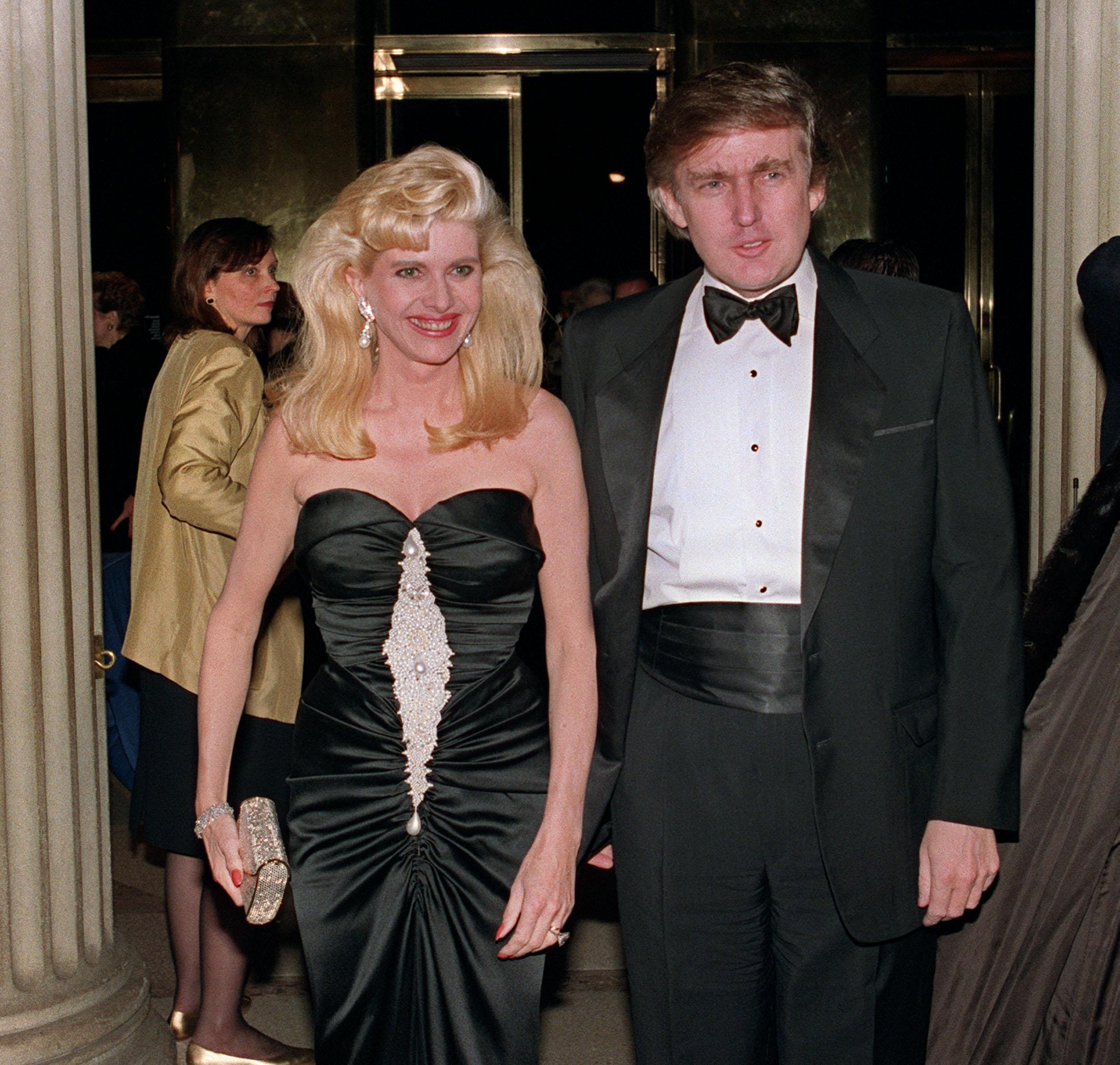 Trump első feleségét és apósát is figyelte a csehszlovák titkosszolgálat