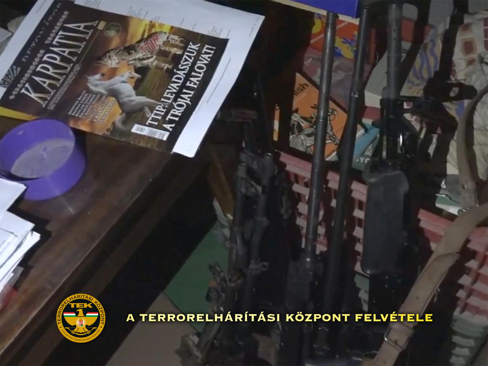 Migránsok elleni akcióra készült Győrkös István fia a rendőrség szerint