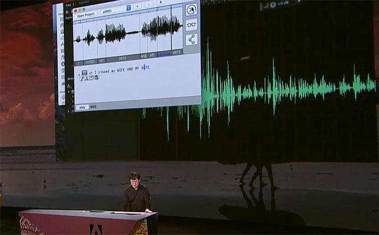 Az Adobe bemutatta VoCót, ami olyan, mint a Photoshop, csak emberi hangra