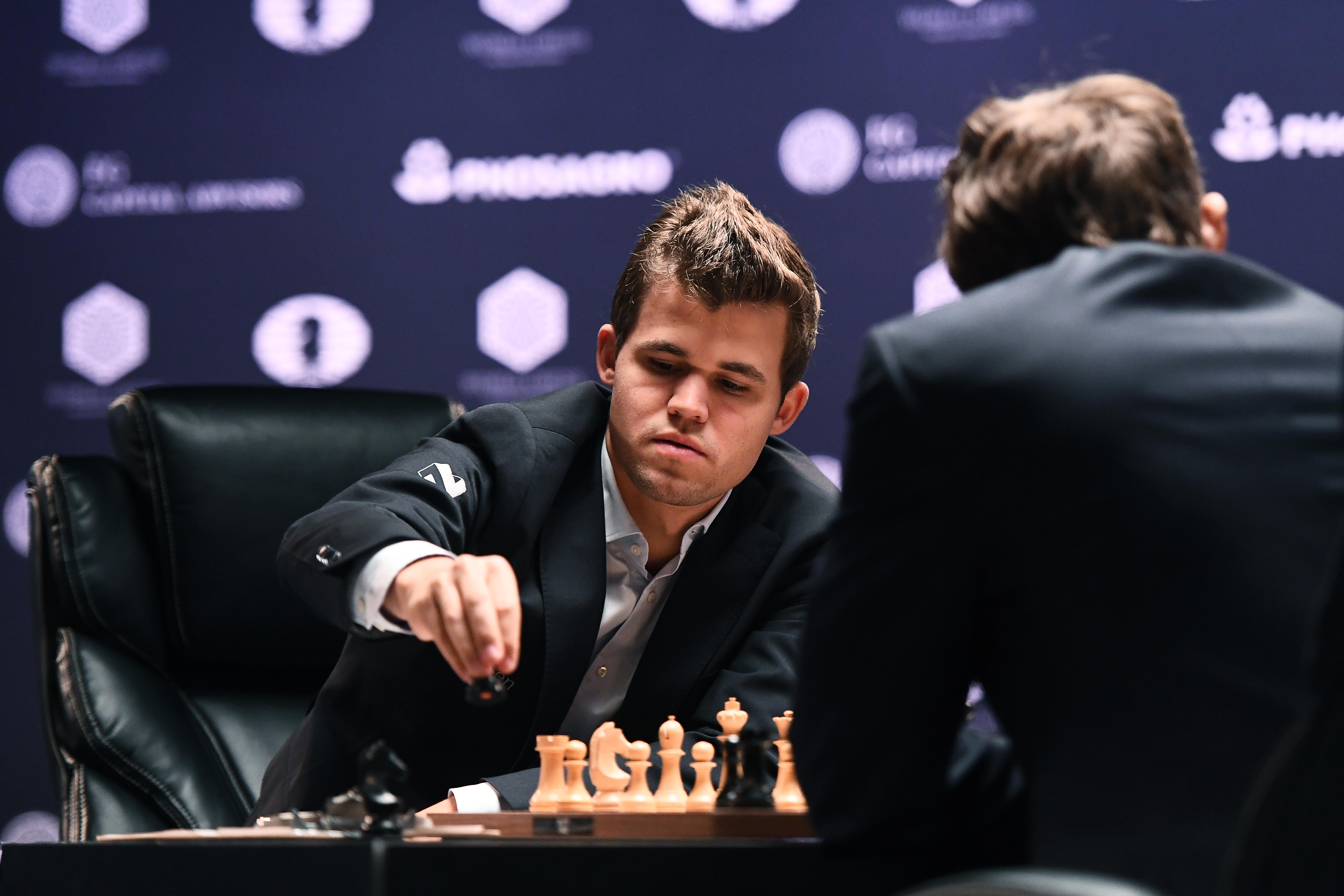 Magnus Carlsen a sakkvilágbajnok