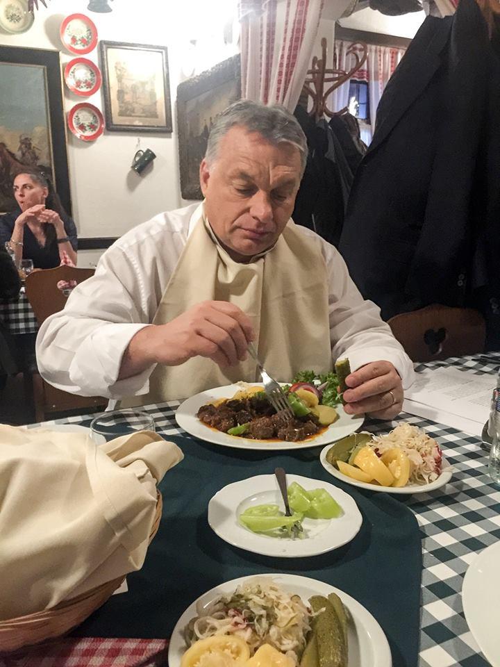 Álljunk meg egy pillanatra a nagy rohanásban, és élvezzük úgy az élet apró szépségeit, ahogy Orbán Viktor a Látóképi csárdában