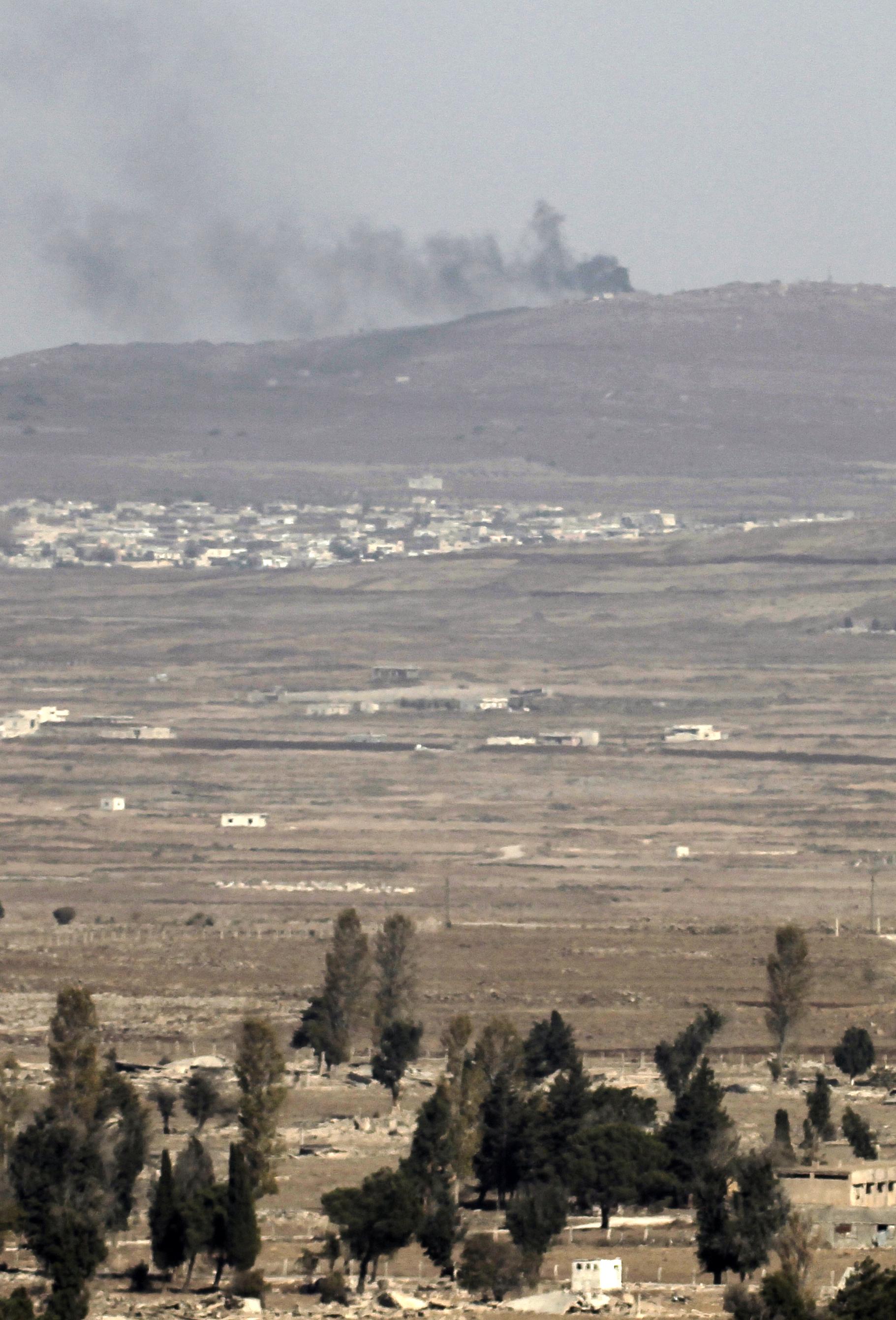 Az izraeli hadsereg megölt négy ISIS-katonát a Golán-fennsíkon