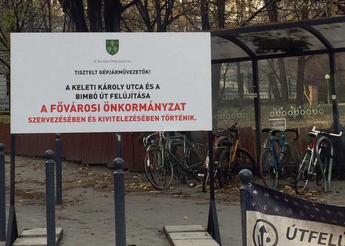 A második kerületi önkormányzatnak semmi köze a rózsadombi útbontásokhoz, az mind Tarlós István és a Főváros sara