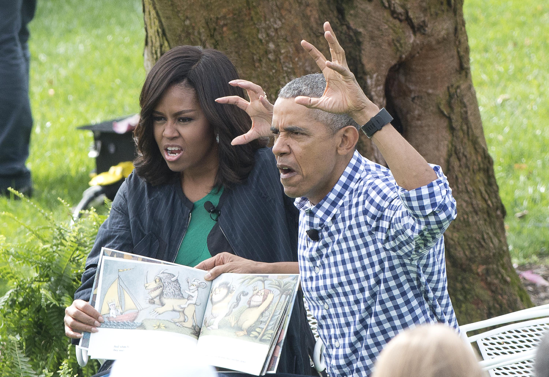 Michelle Obama időnként legszívesebben kilökte volna a férjét az ablakon