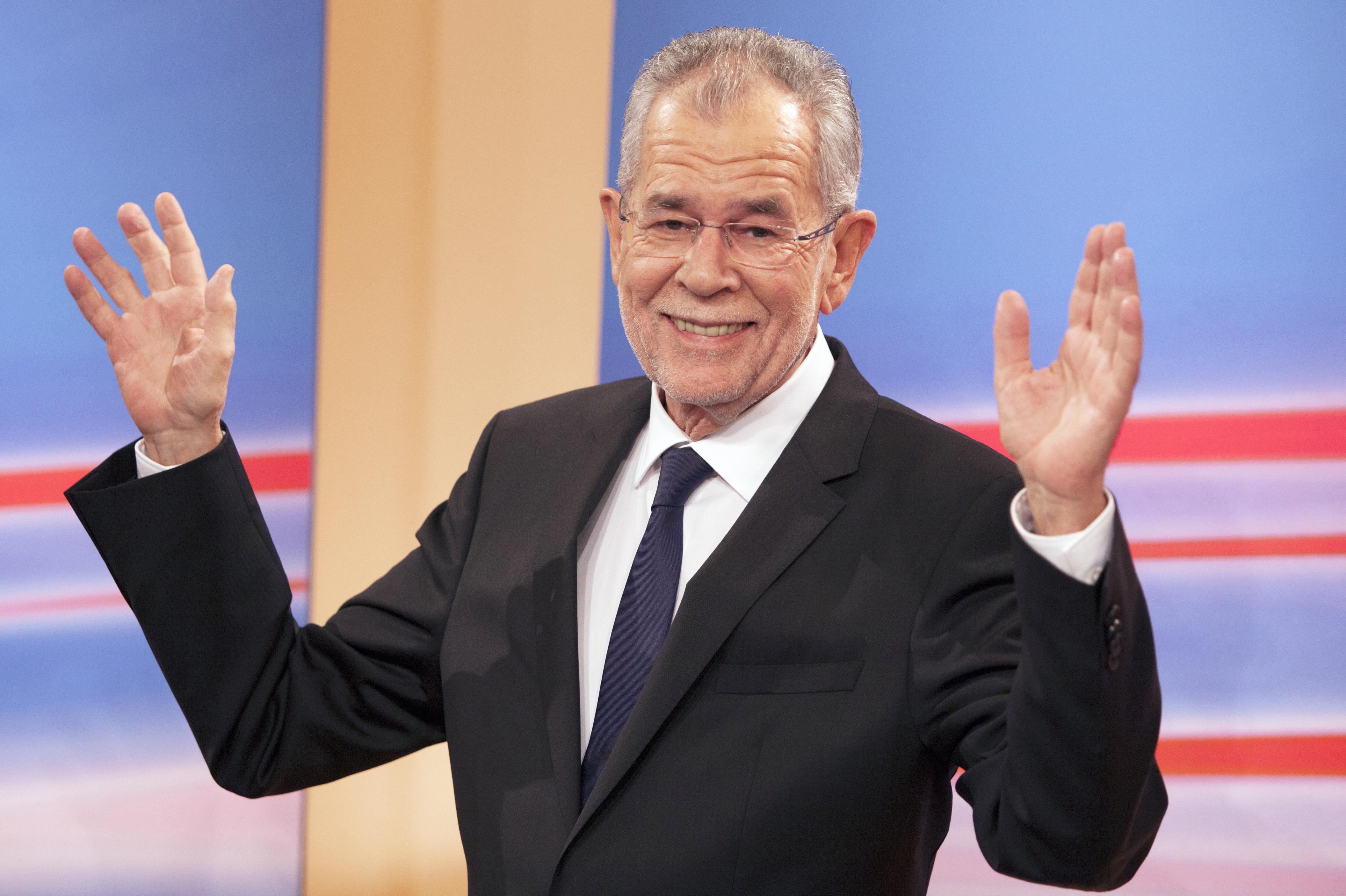 Egy Európa-barát Ausztria győzelméről beszélt az új osztrák elnök