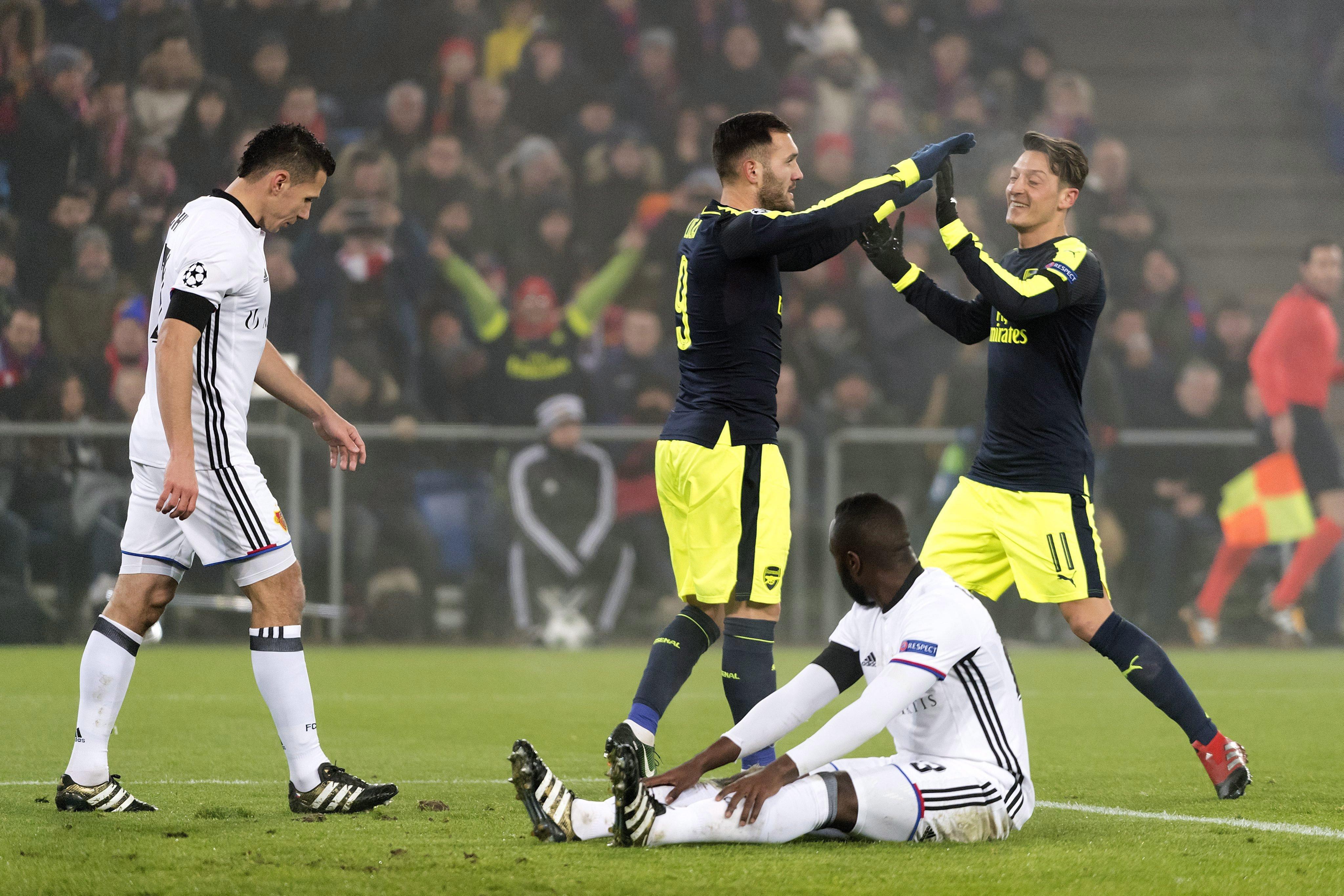 Csoportelsőként ment tovább az Arsenal és a Napoli