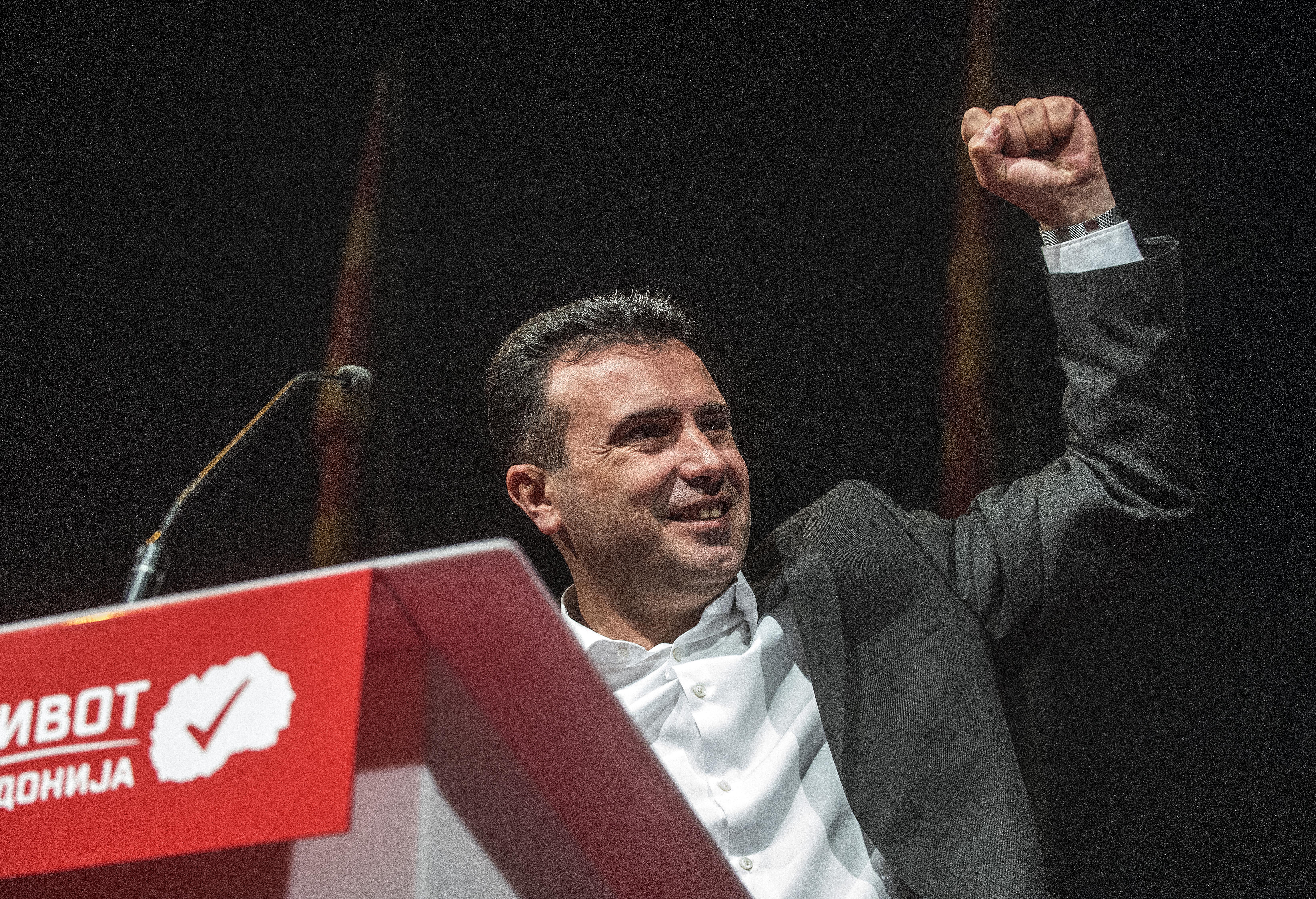 A jobbközép kormánypárt nyerte az előrehozott választást Macedóniában
