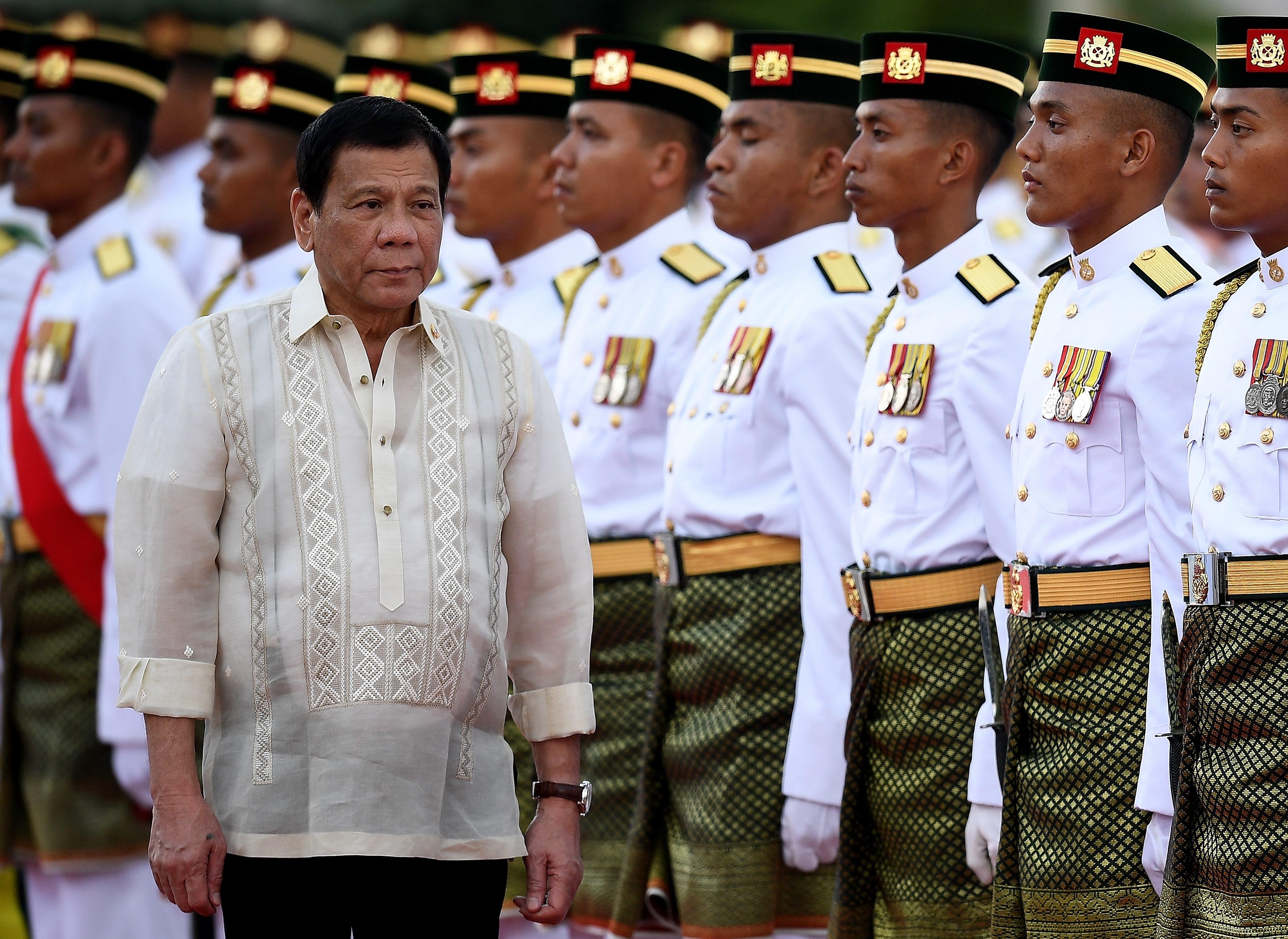 Rodrigo Duterte elismerte, hogy saját kezűleg végzett ki embereket, amikor polgármester volt
