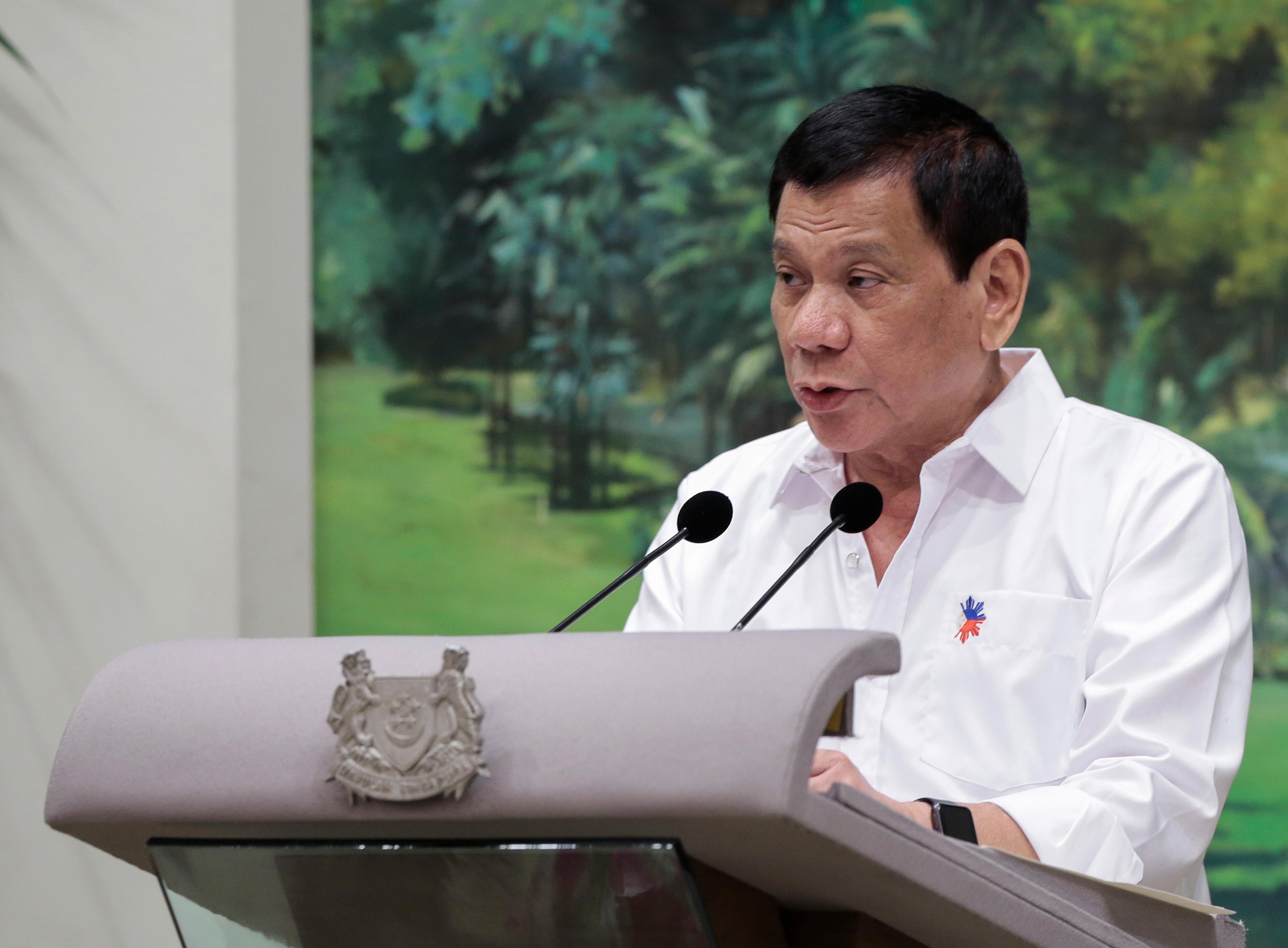 Három ember megölését ismerte el Rodrigo Duterte