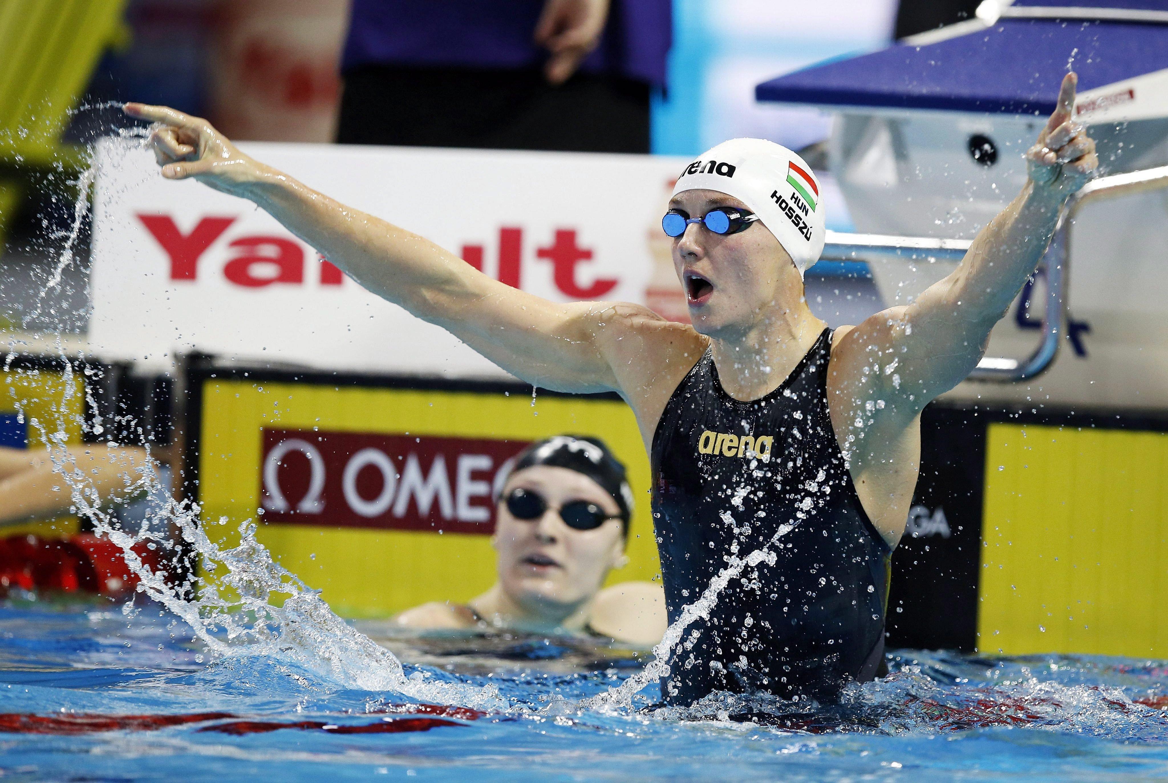 Hosszú Katinka lett a legjobb női sportoló az európai hírügynökségek szerint 2016-ban