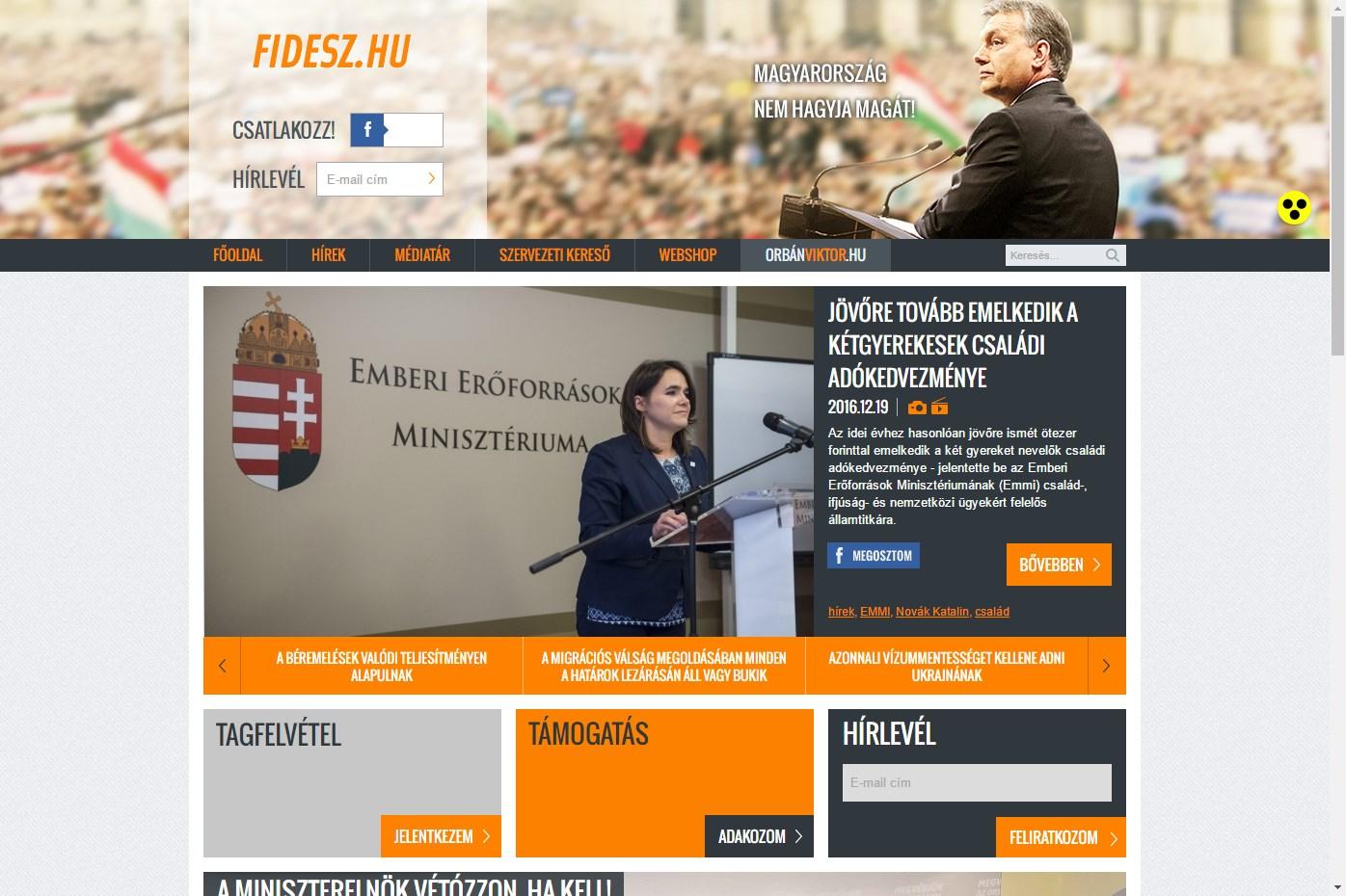 """A """"közhiedelemmel szemben"""" nem is két honlapra költi el azt a 43 milliót a Fidesz"""