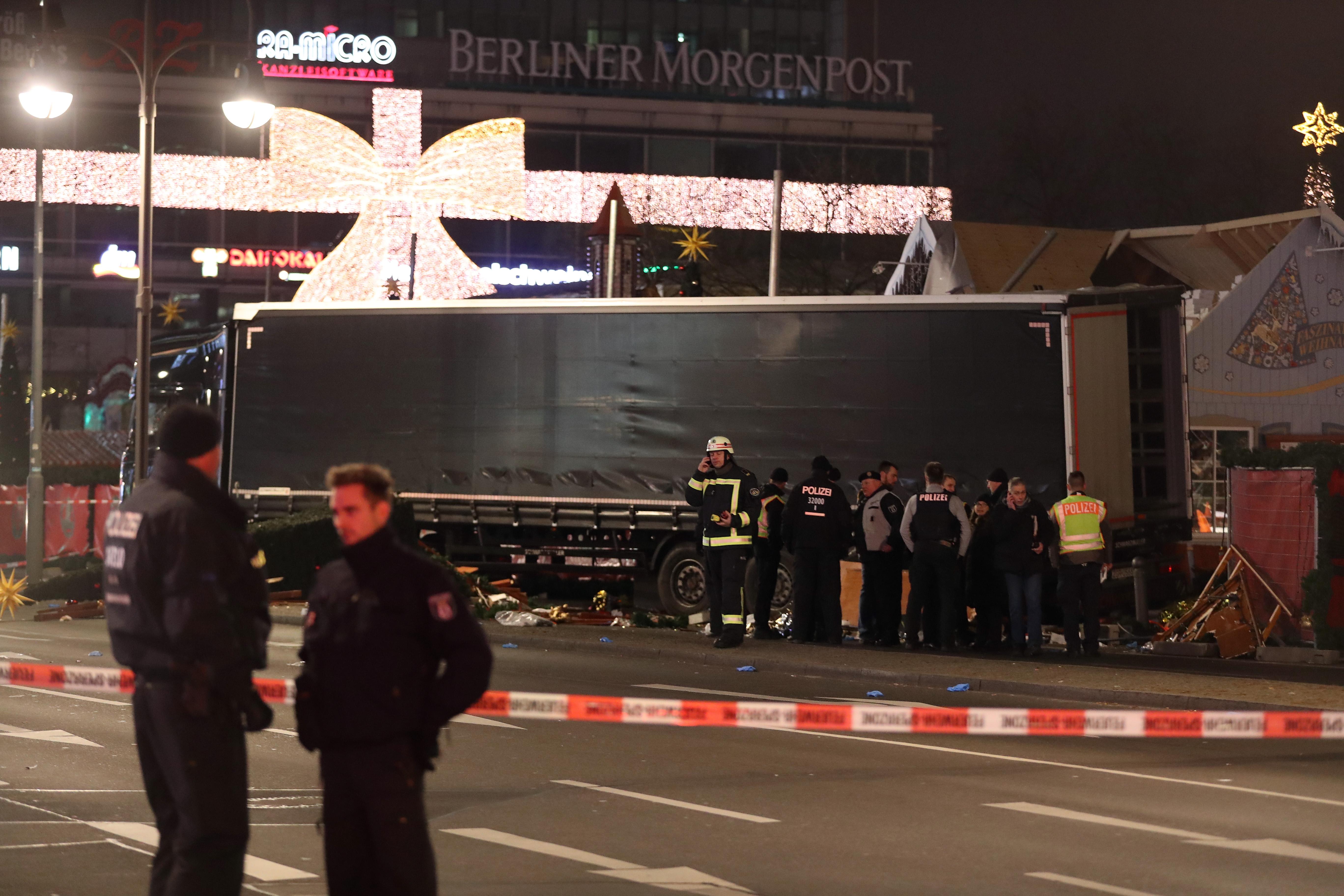 100 ezer eurót kap, aki a német rendőröket a berlini gázoló nyomára vezeti