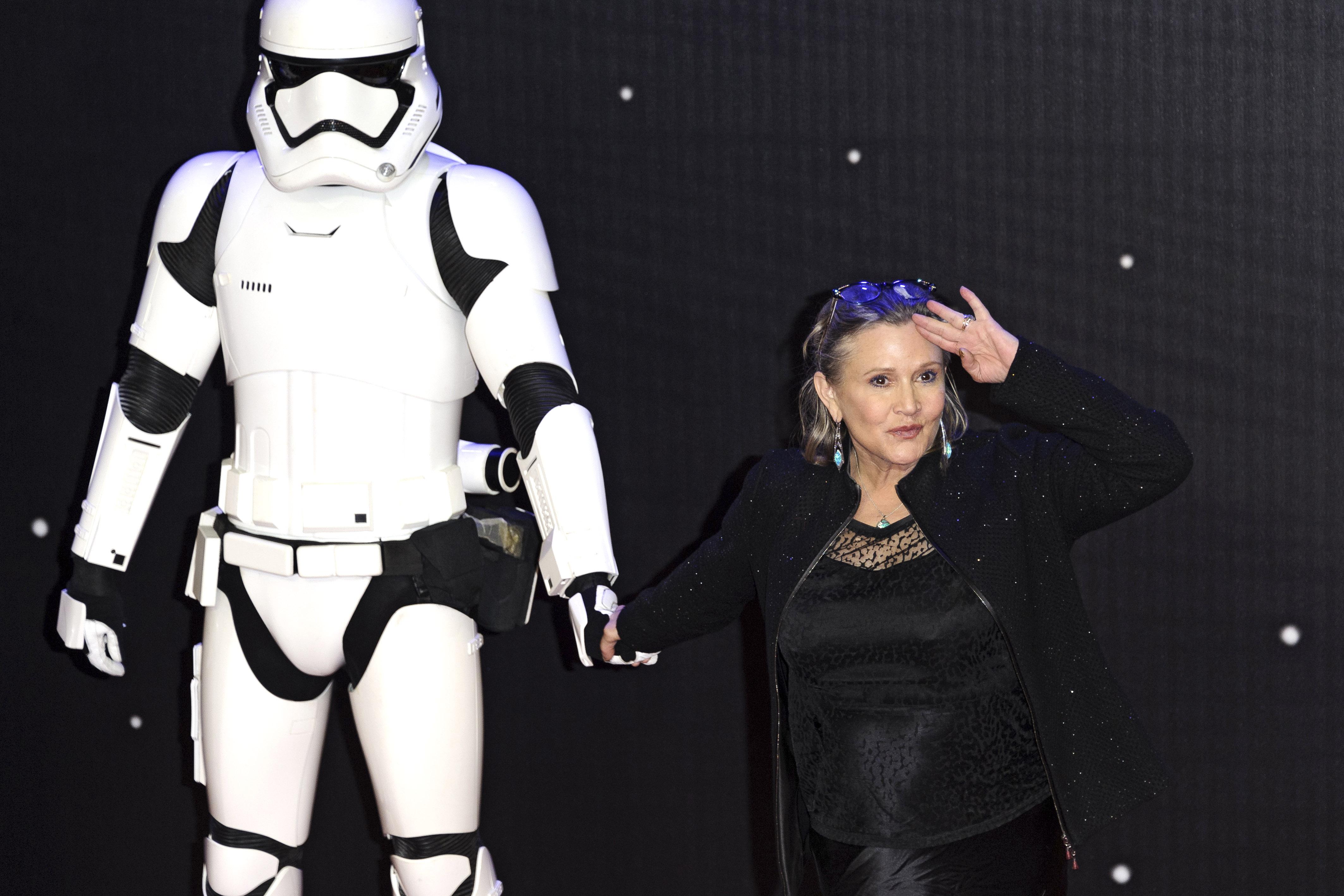 Leia hercegnőt nem támasztják fel digitálisan