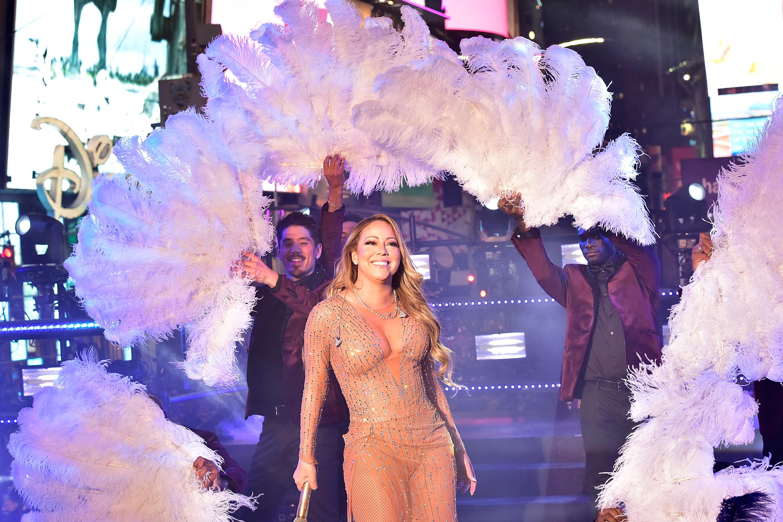Katasztrofálisra sikerült Mariah Carey újévi koncertje a Times Square-en