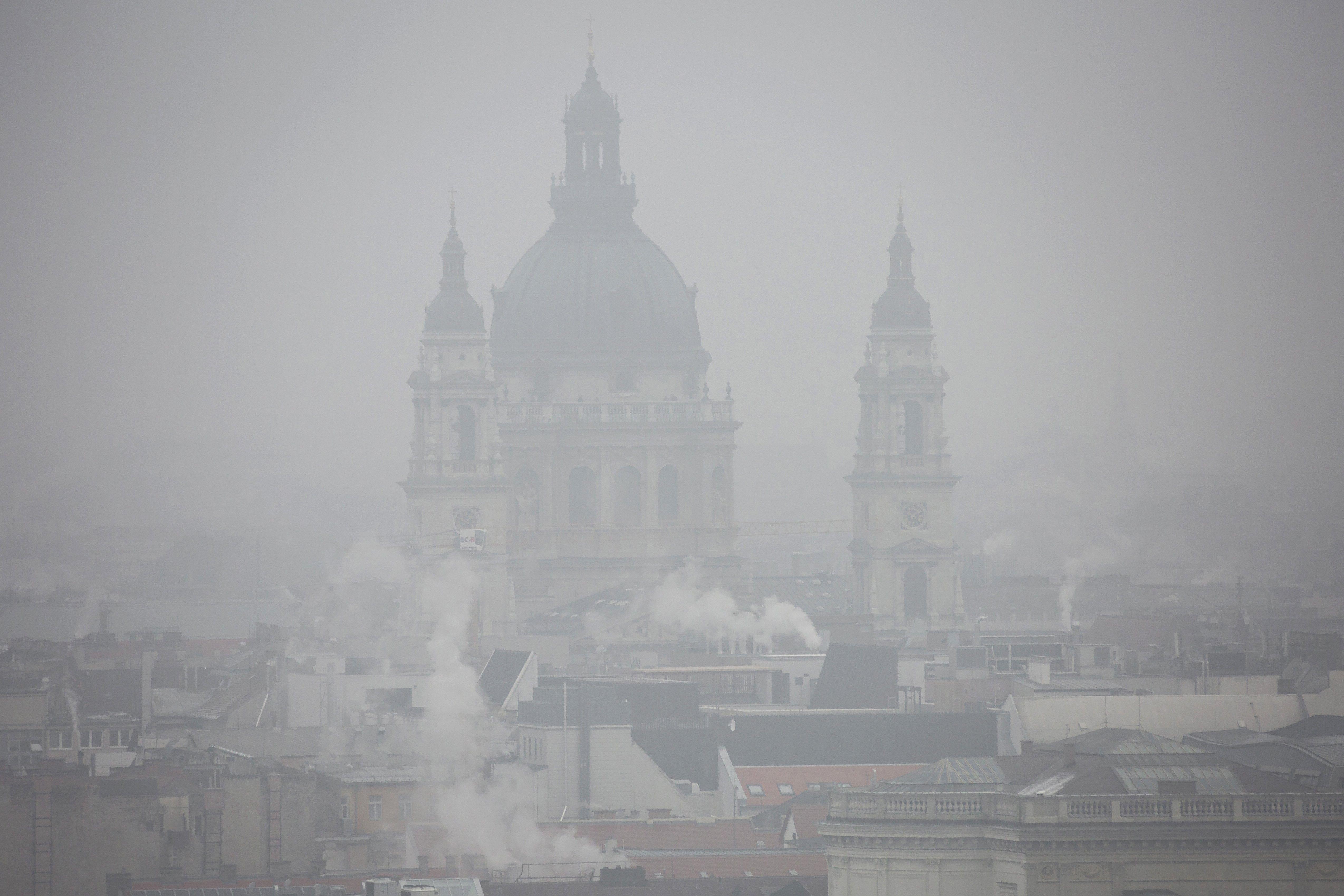 Megszüntették a szmogriadó tájékoztatási fokozatát Budapesten