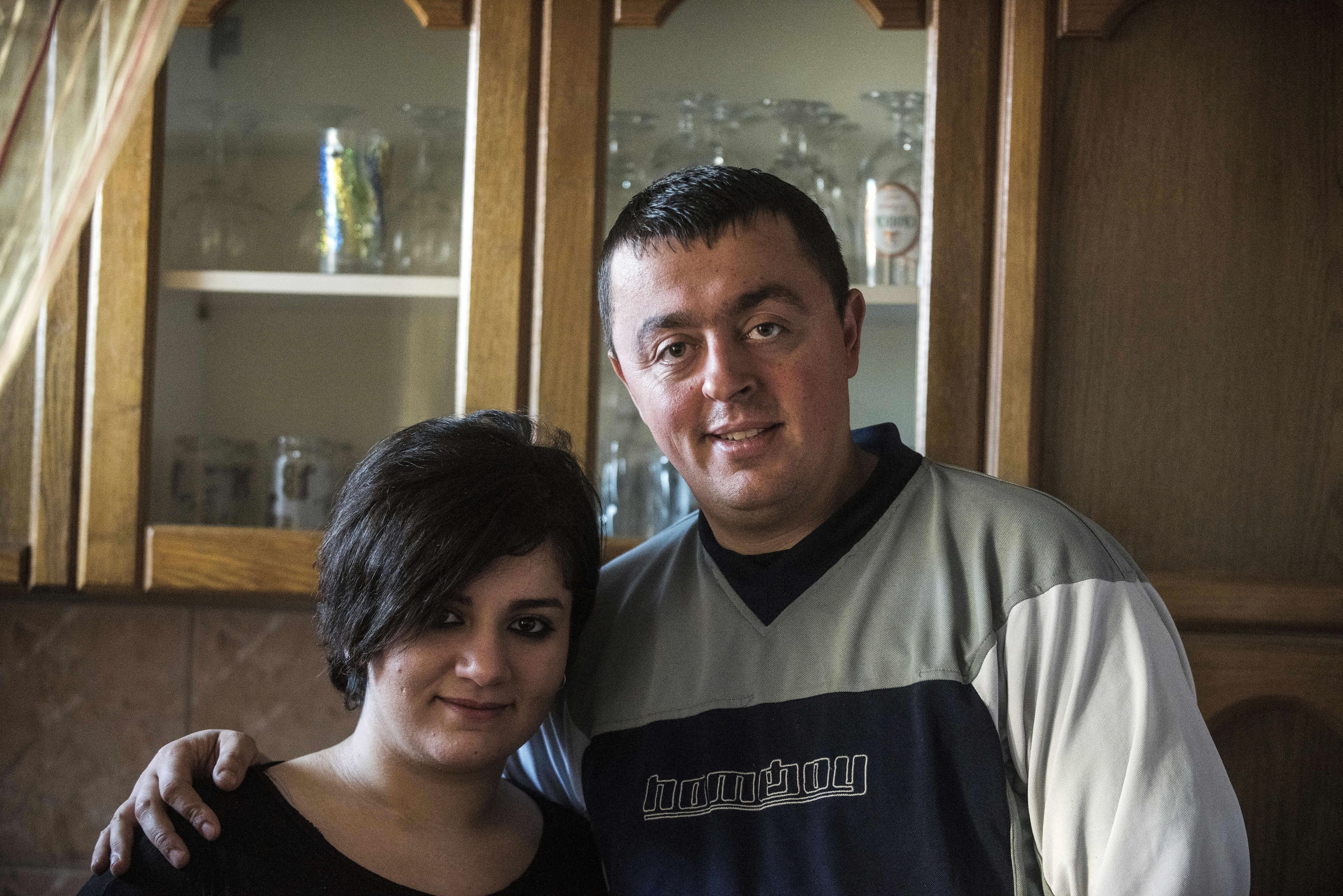 Az iraki lány Németországba akart eljutni, de végül egy macedón határőr felesége lett