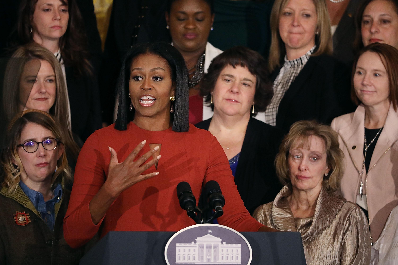 Megható búcsúbeszédet mondott Michelle Obama