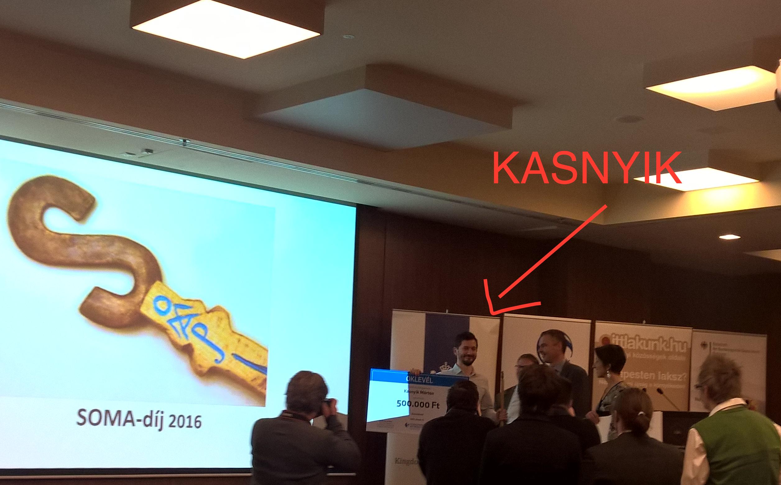 Gőbölyös Soma-díjat kapott Kasnyik Márton a Quaestorról szóló cikksorozatáért