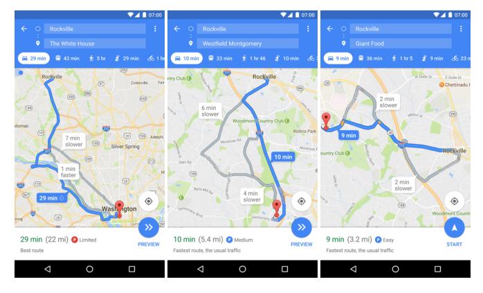 A Google Maps új verziója segít eligazodni a parkolásban is