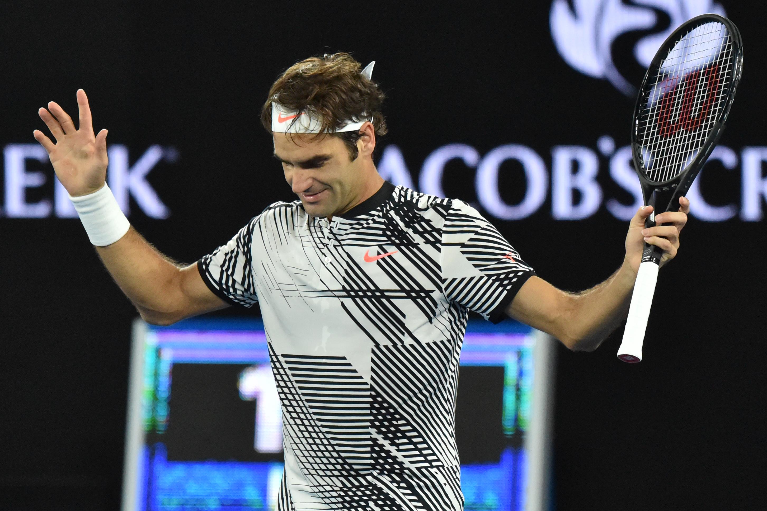 Csodálatos: Roger Federer 35 évesen jutott döntőbe az Australian Openen