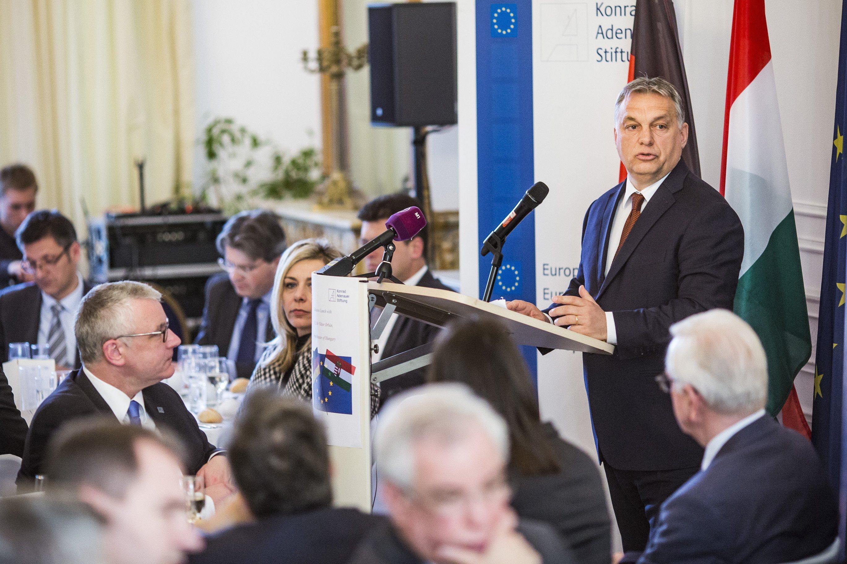 Brüsszelben ment neki Orbán Viktor Európának