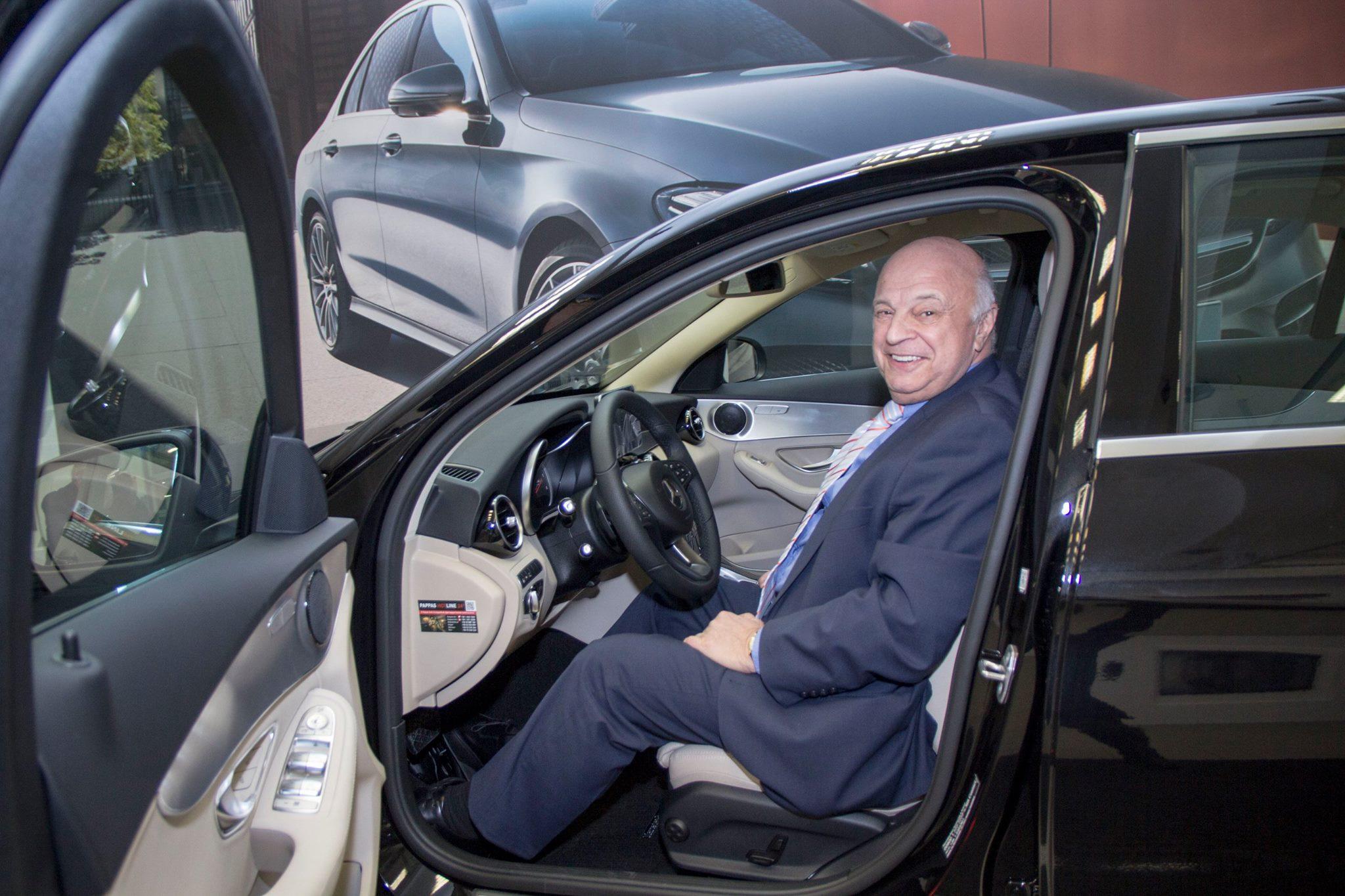 Nógrádi György újított egy Mercedest