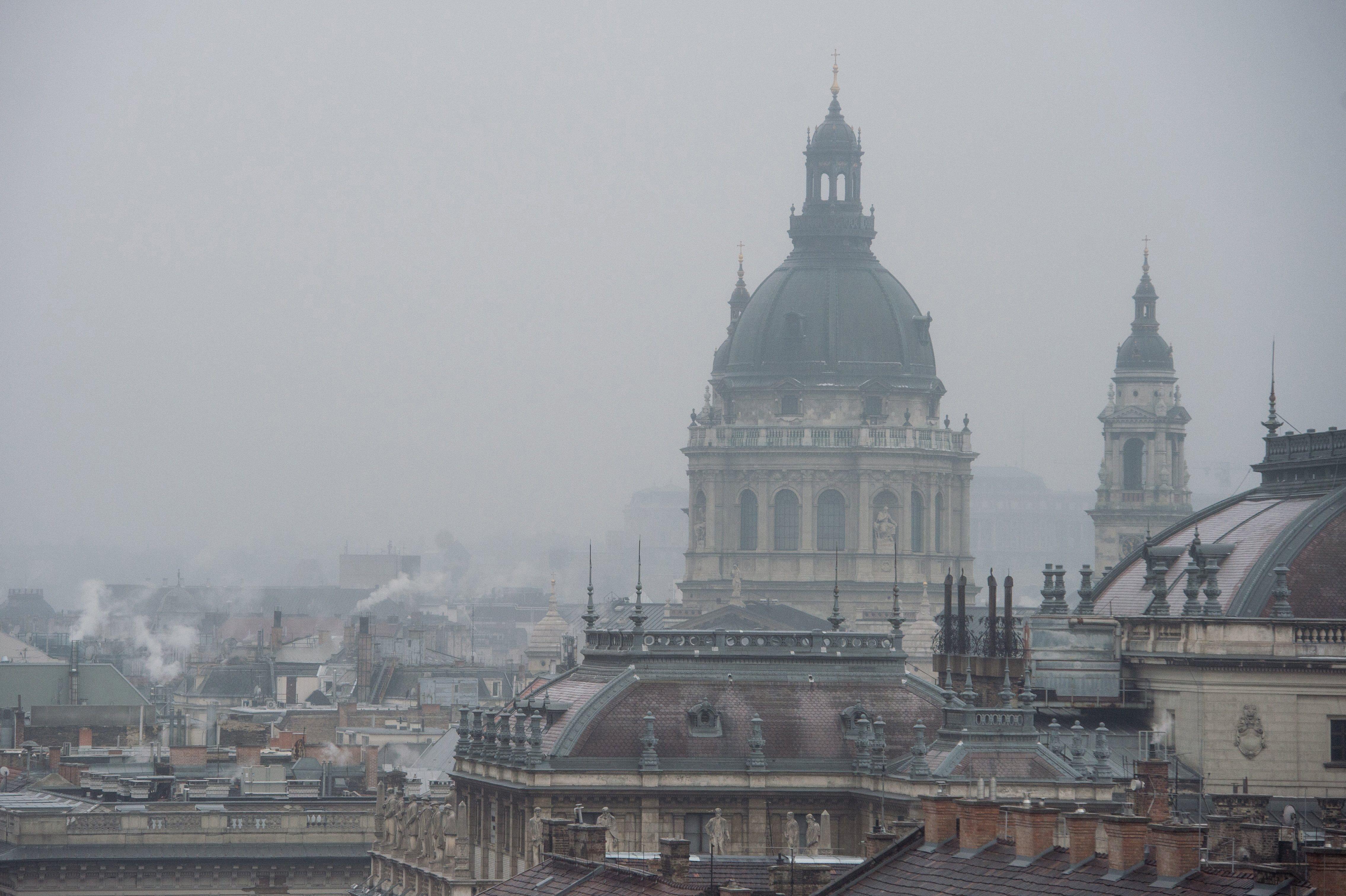 Nagy a szmog Budapesten