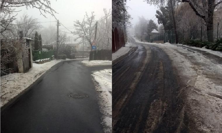 Na, kinek az utcáját takarították le, miközben jégben-latyakban állt Budapest?