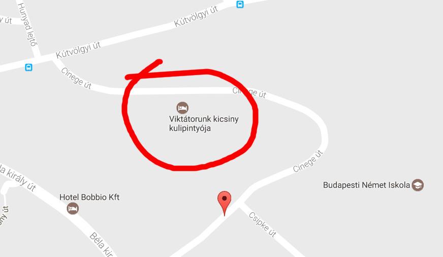 Orbán Viktor háza végre felkerült a Google Mapsre