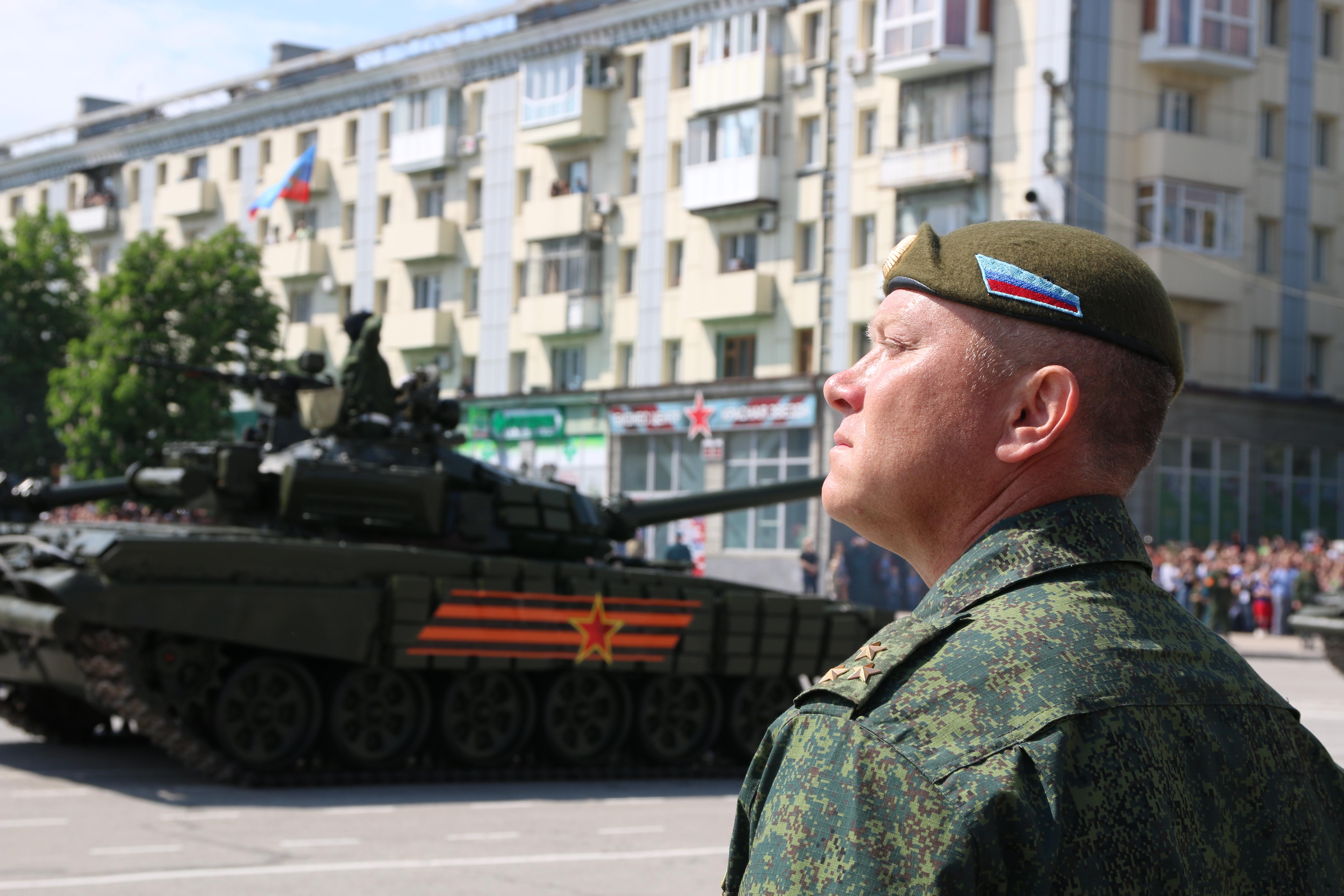 Kelet-Ukrajnában felrobbantották a lázadók egyik vezetőjét