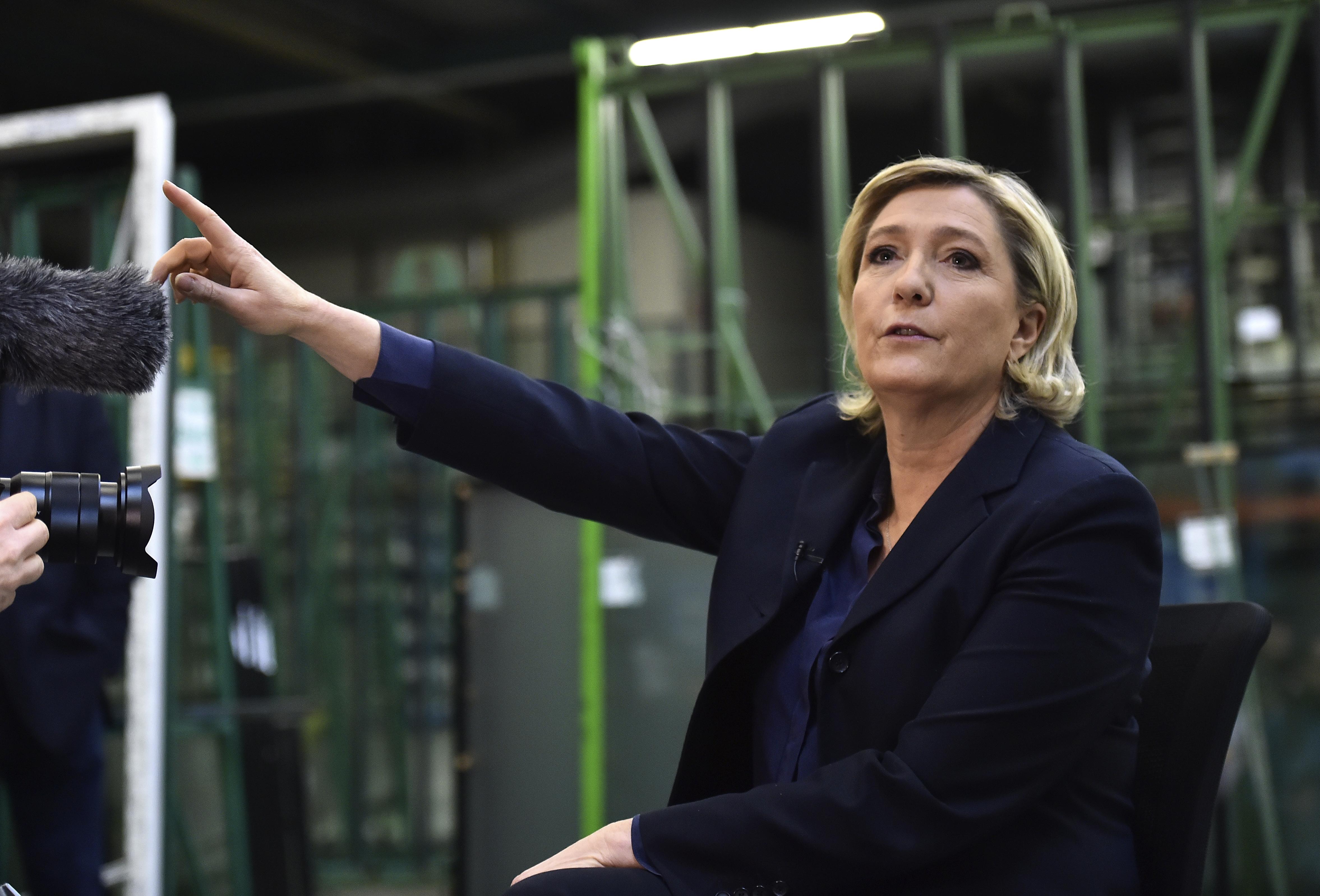 Marine Le Pen forradalmat ígért Franciaországnak