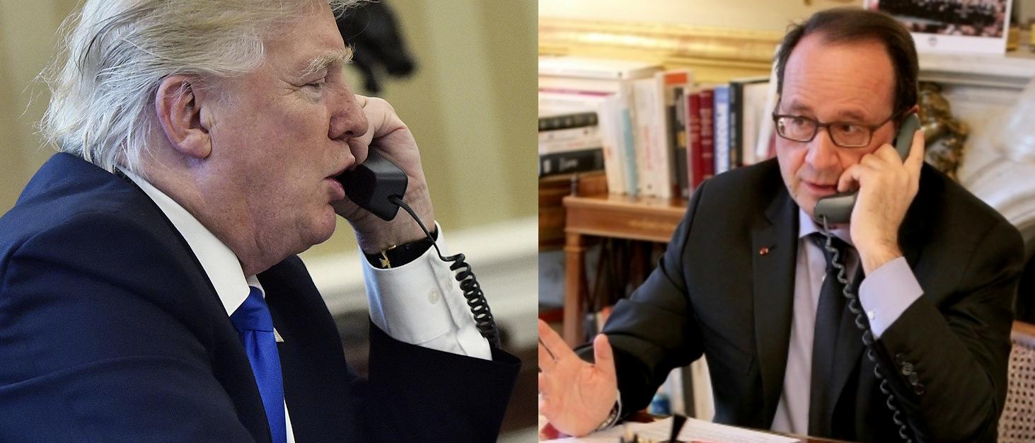Trump dühösen követelte a pénzét a francia elnöktől