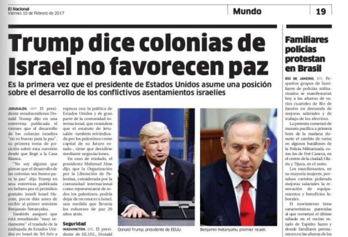 Egy dominikai újság Donald Trump fotója helyett véletlenül Alec Baldwin Trump-paródiájával illusztrált egy hírt