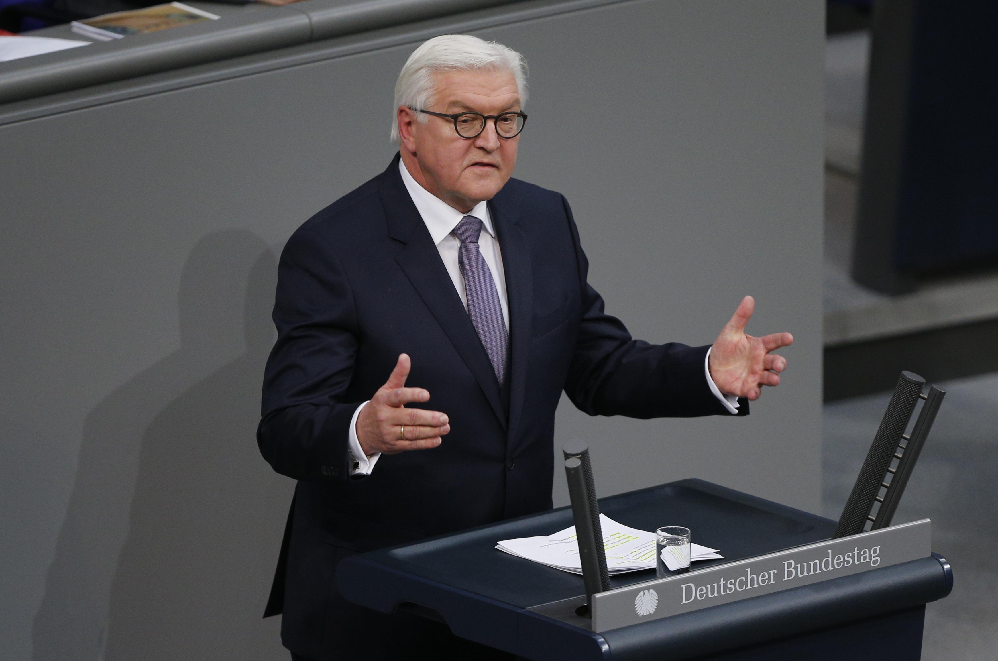 Steinmeier német államfő: Aki életet ment, nem lehet bűnöző