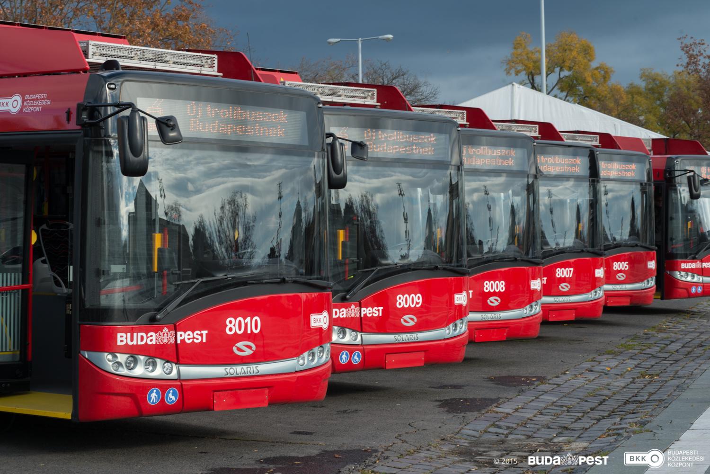 A BKV kivonja a forgalomból a Solaris-Skoda trolikat