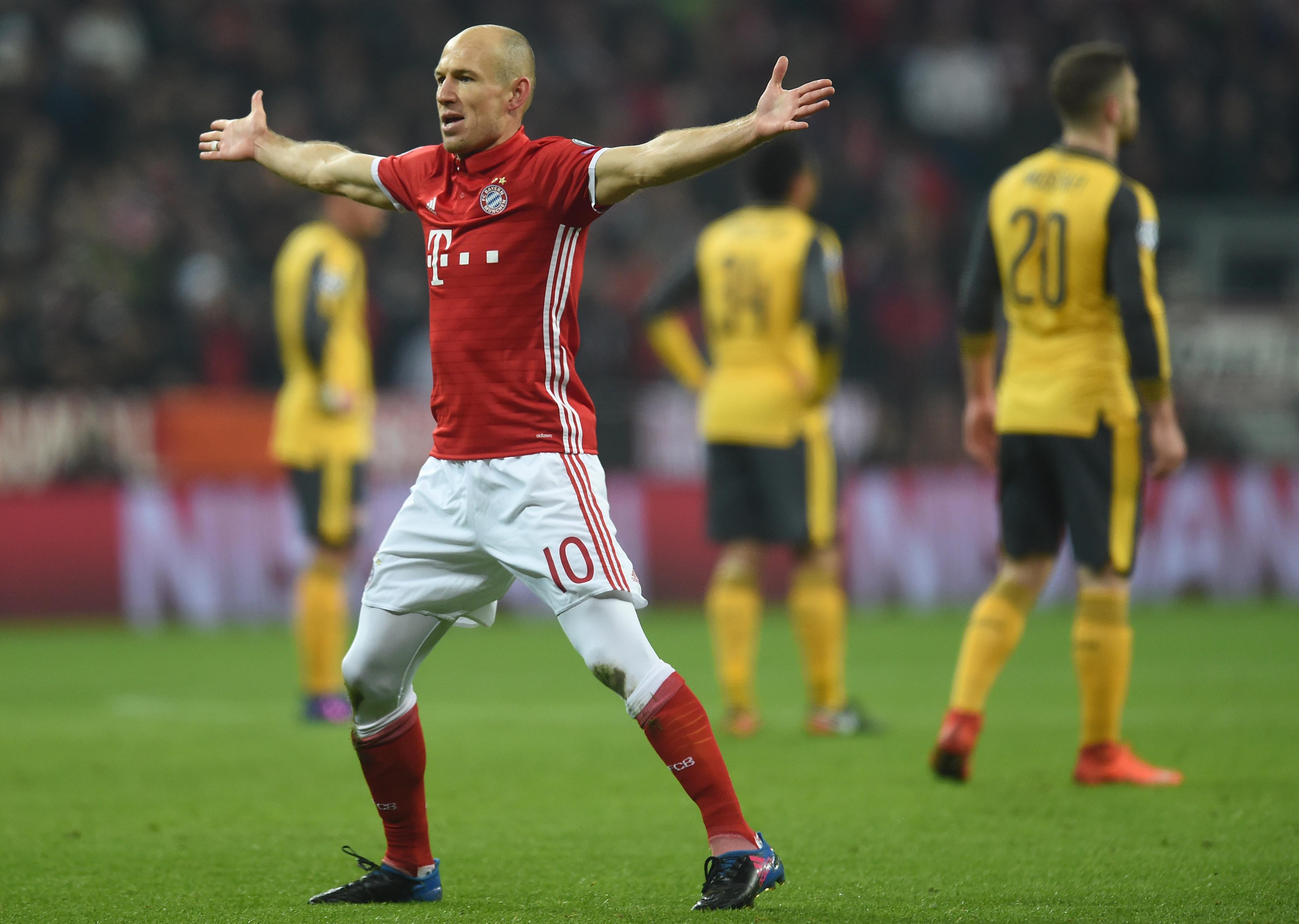 Egy félidő alatt kivégezte a Bayern az Arsenalt