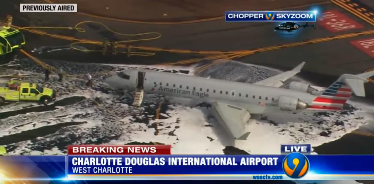 Szarvast ütött el egy felszálló repülőgép Észak-Karolinában