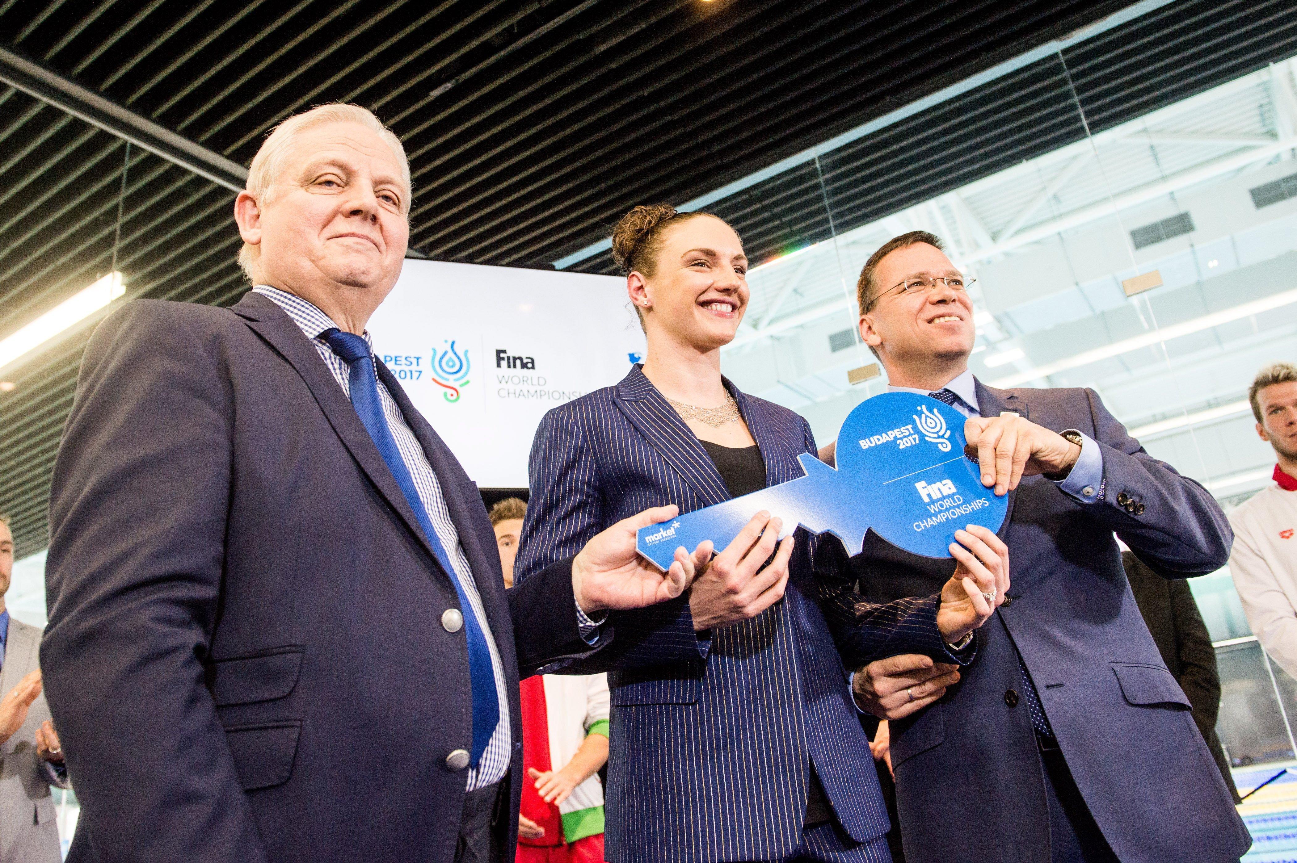 A világbajnokság után Hosszú Katinka úszóakadémiája költözhet a Duna Arénába