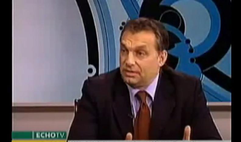Soha senki nem beszélt olyan keményen a nép akaratát kifejező népszavazásról, mint Orbán Viktor 2008-ban