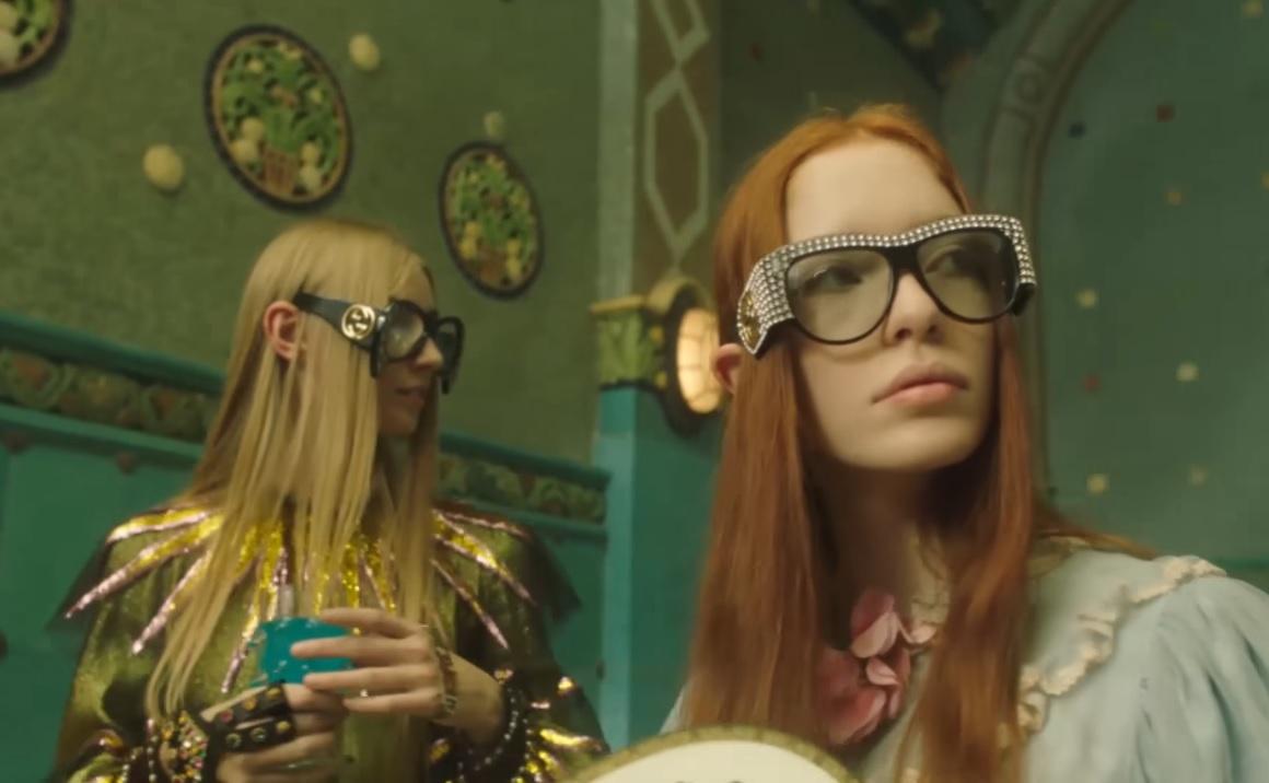 Petra Collins magyar gyerekek varázslatos fantáziavilágáról forgatott reklámklipet a Guccinak