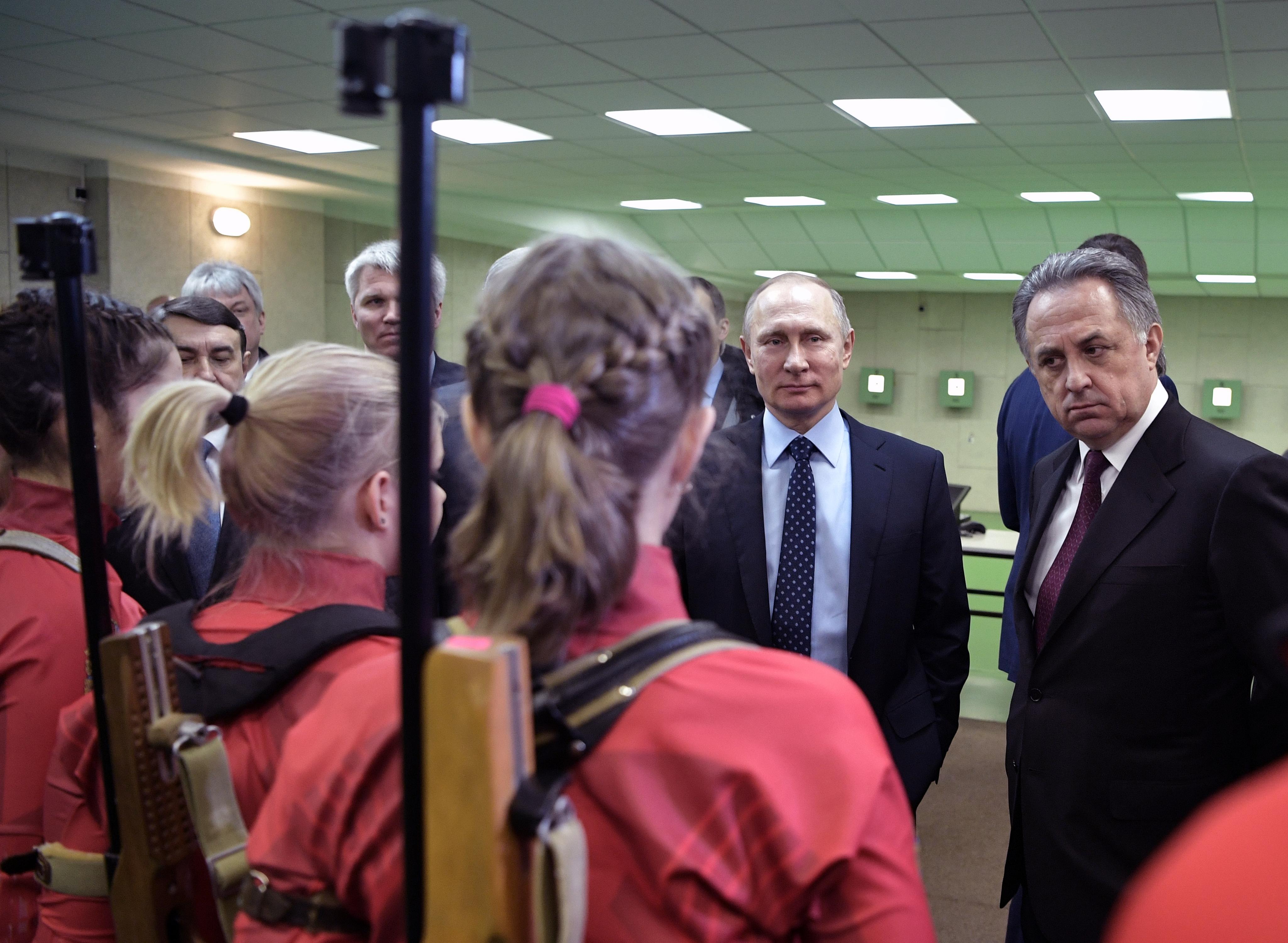 Putyin rácsodálkozott, hogy mennyit doppingolnak az orosz sportolók