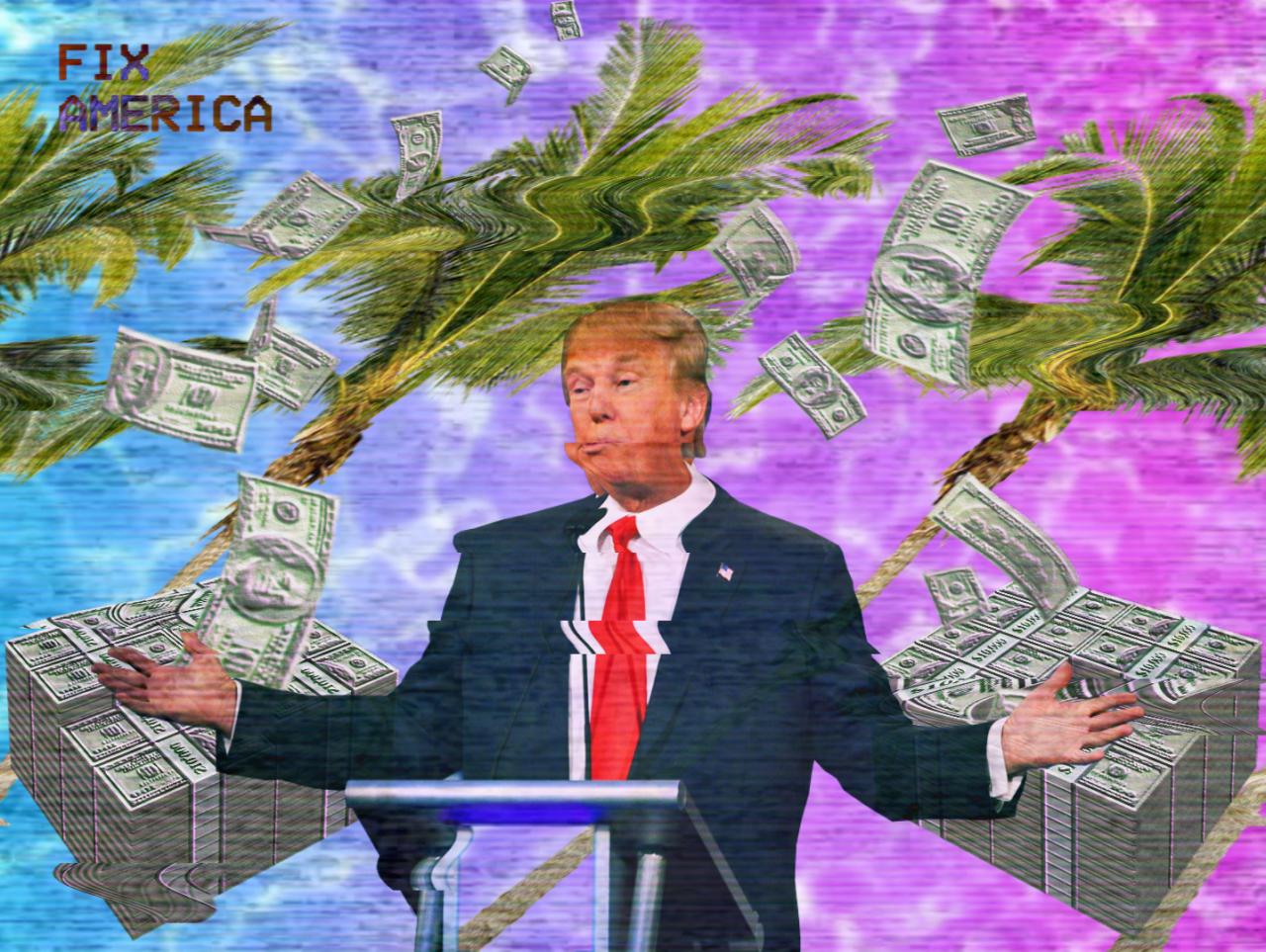 Trump úgy csinálhat pénzt az elnöki hivatalból, ahogy csak akar