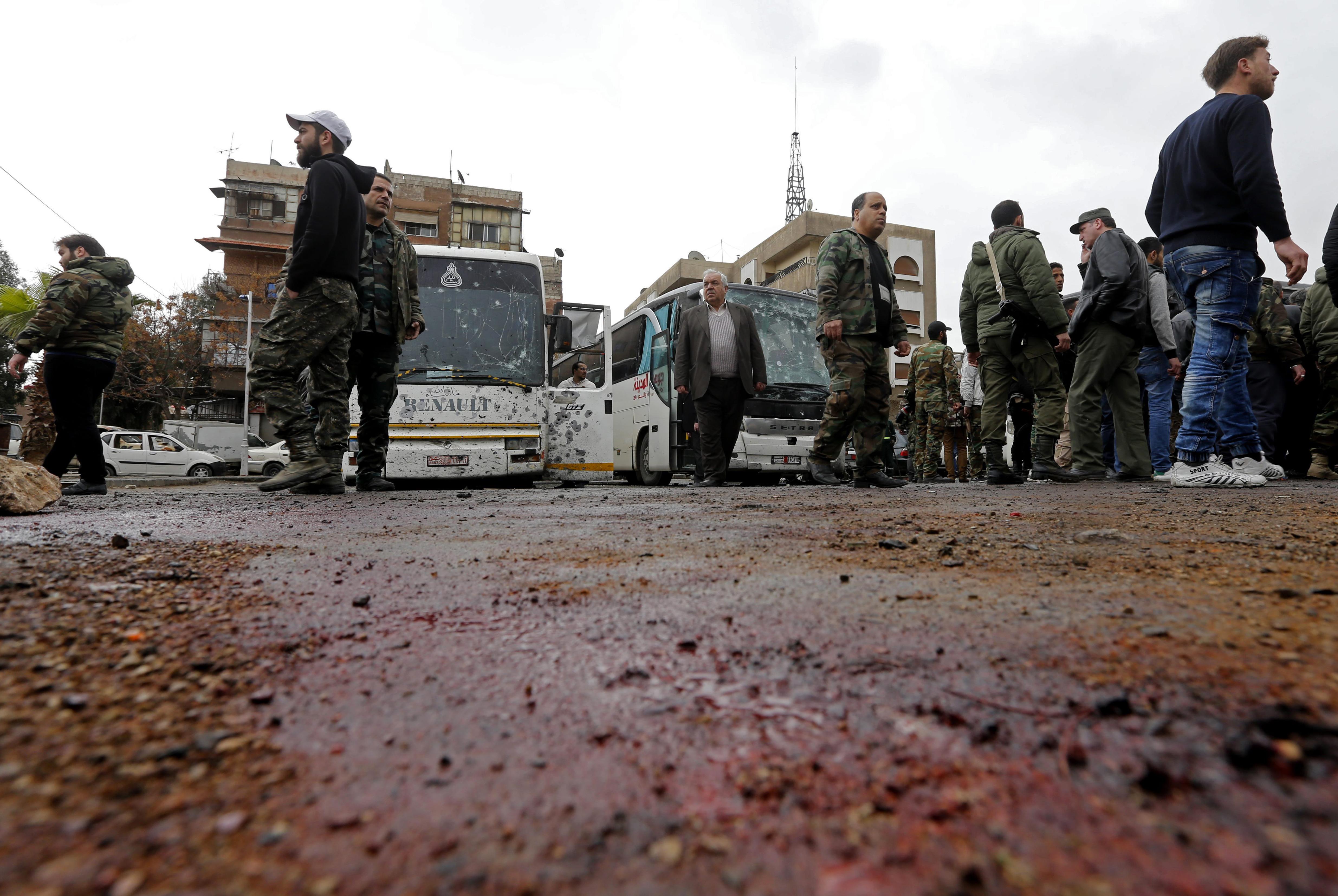 Síita zarándokokat robbantottak fel Damaszkuszban