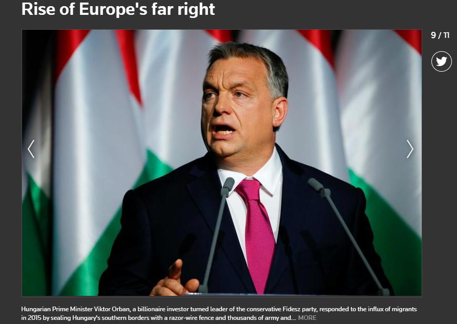 Orbánt nem csak szélsőjobboldali politikusnak, de még milliárdos befektetőnek is nevezi a Reuters