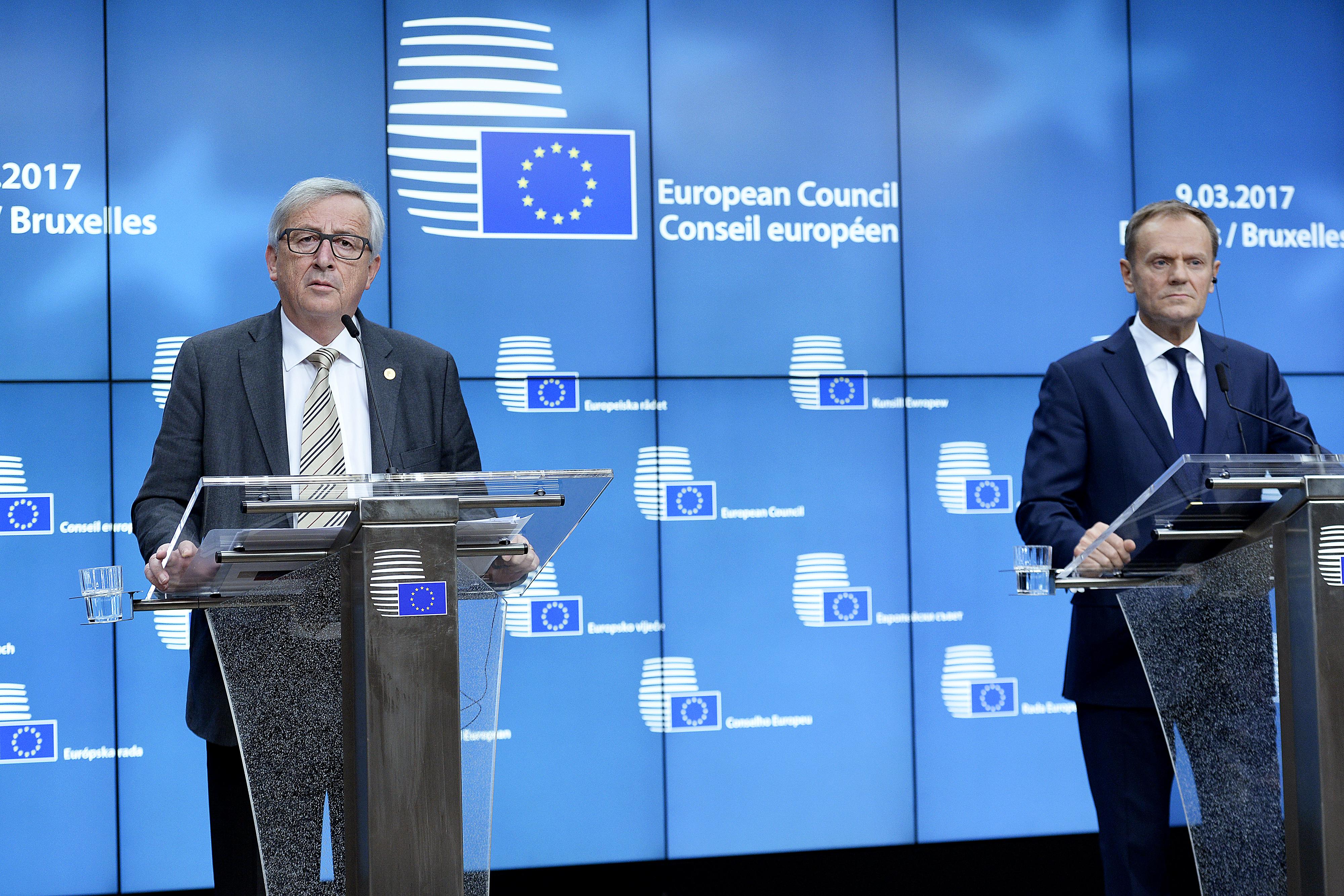 Az EU vezetői szerint Erdogan elvágta magát a nácizással