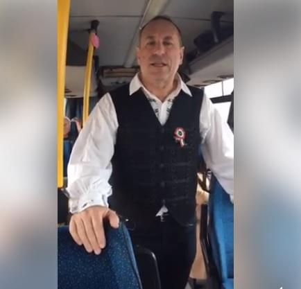 Boldog István a hazafelé tartó buszon elemezte Orbán Viktor beszédét