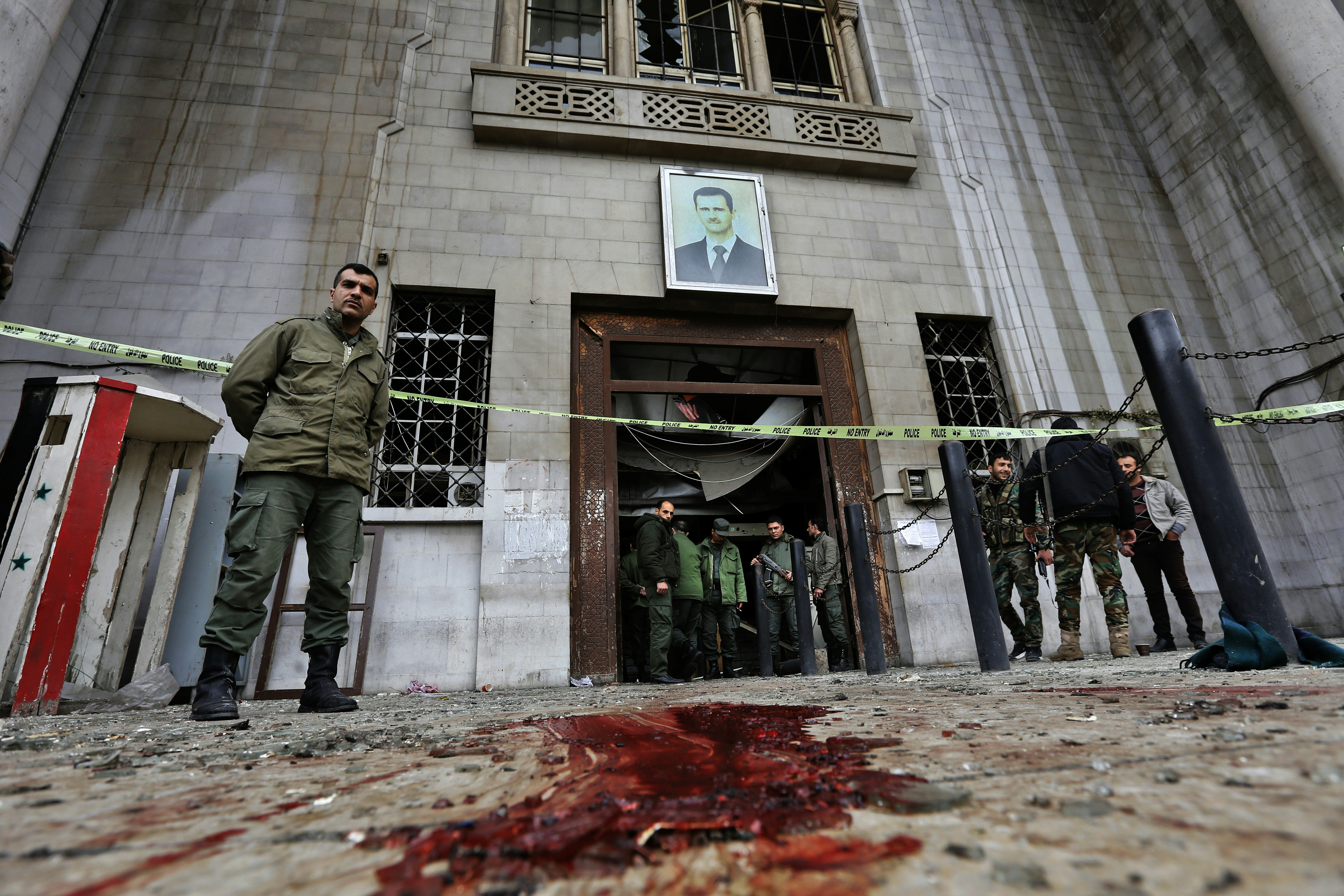 Két robbantás is volt Damaszkuszban, legalább harmincan meghaltak